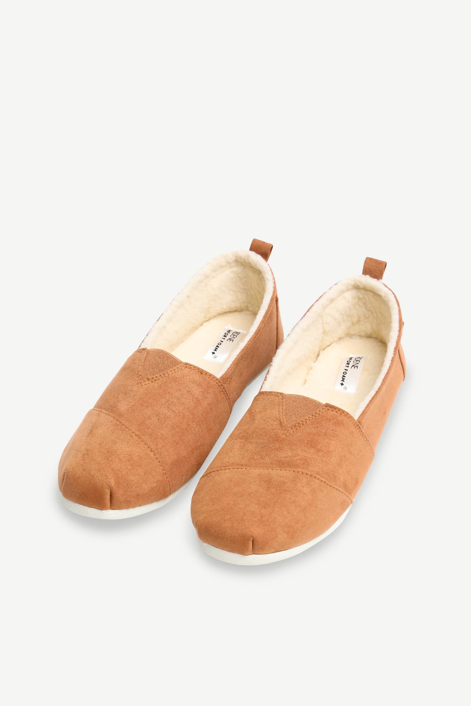 Faux Suede Slip-on Sneakers
