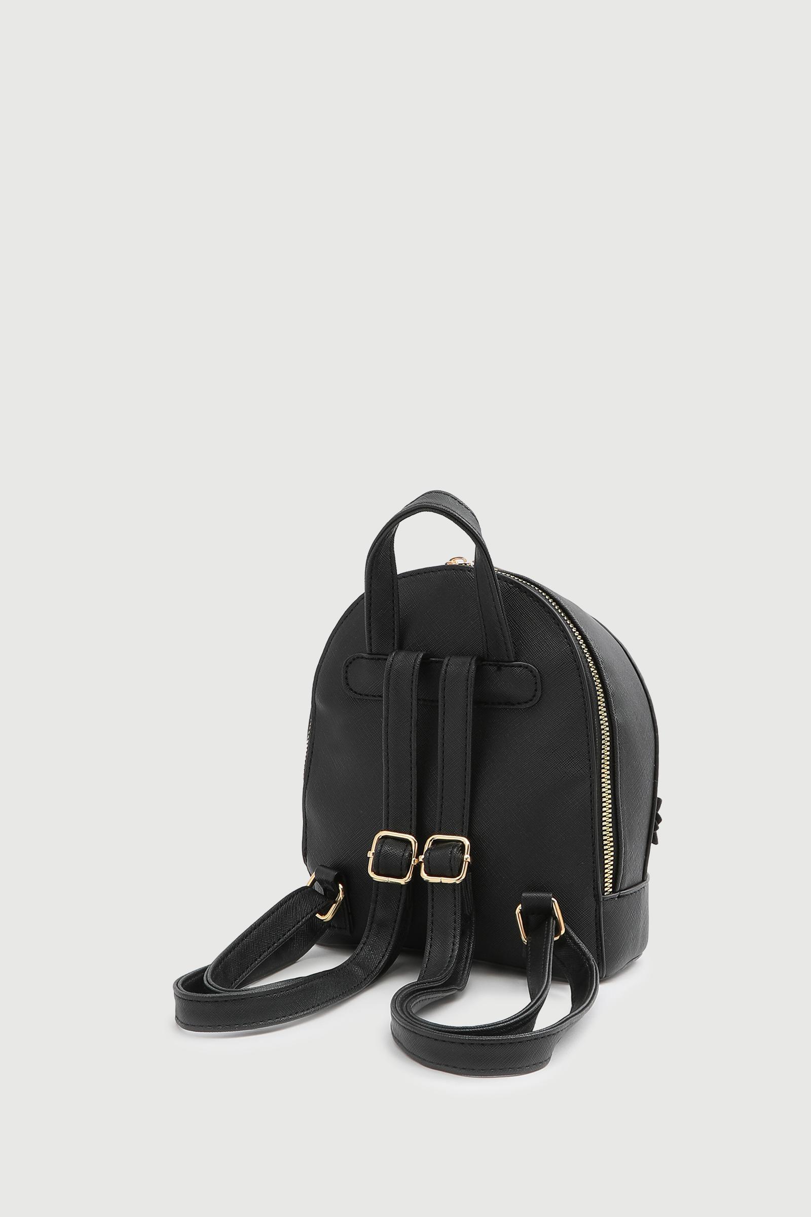 Mini sac à dos avec détail fleuri