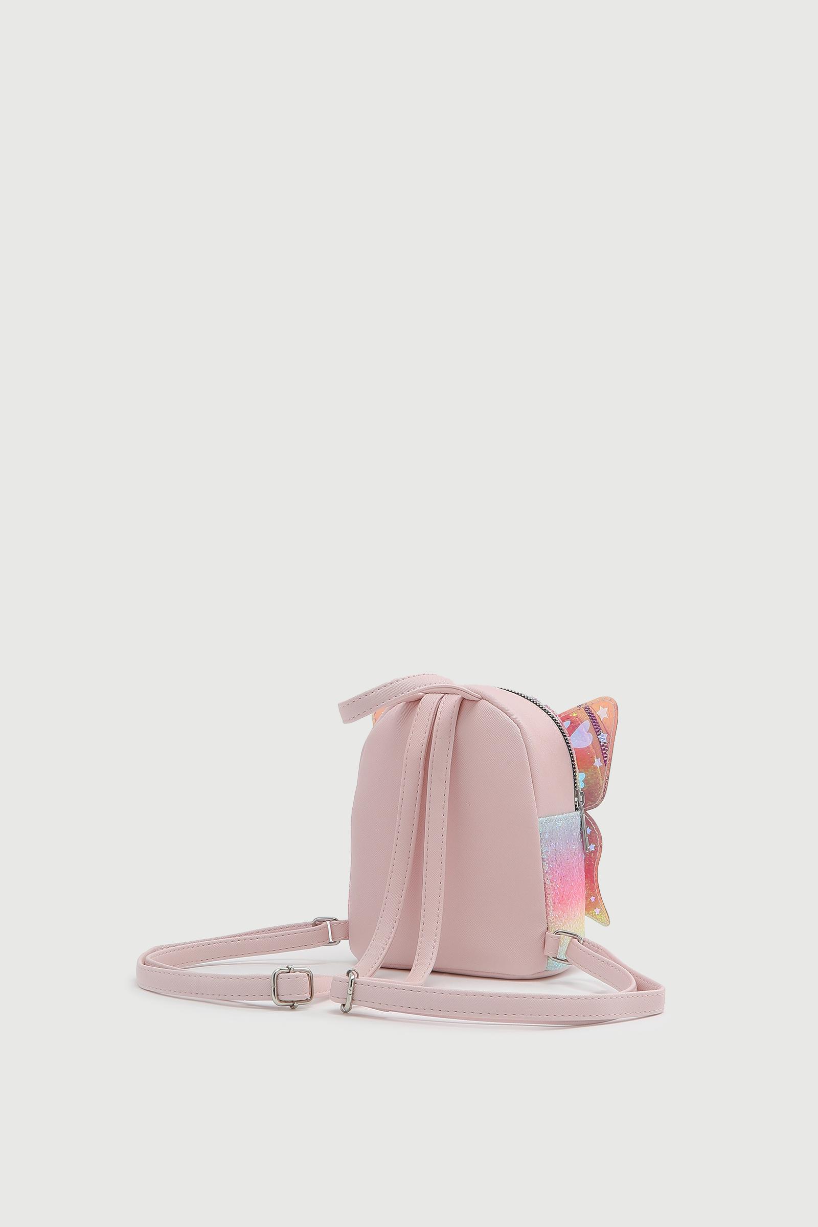 Glitter Butterfly Backpack for Girls