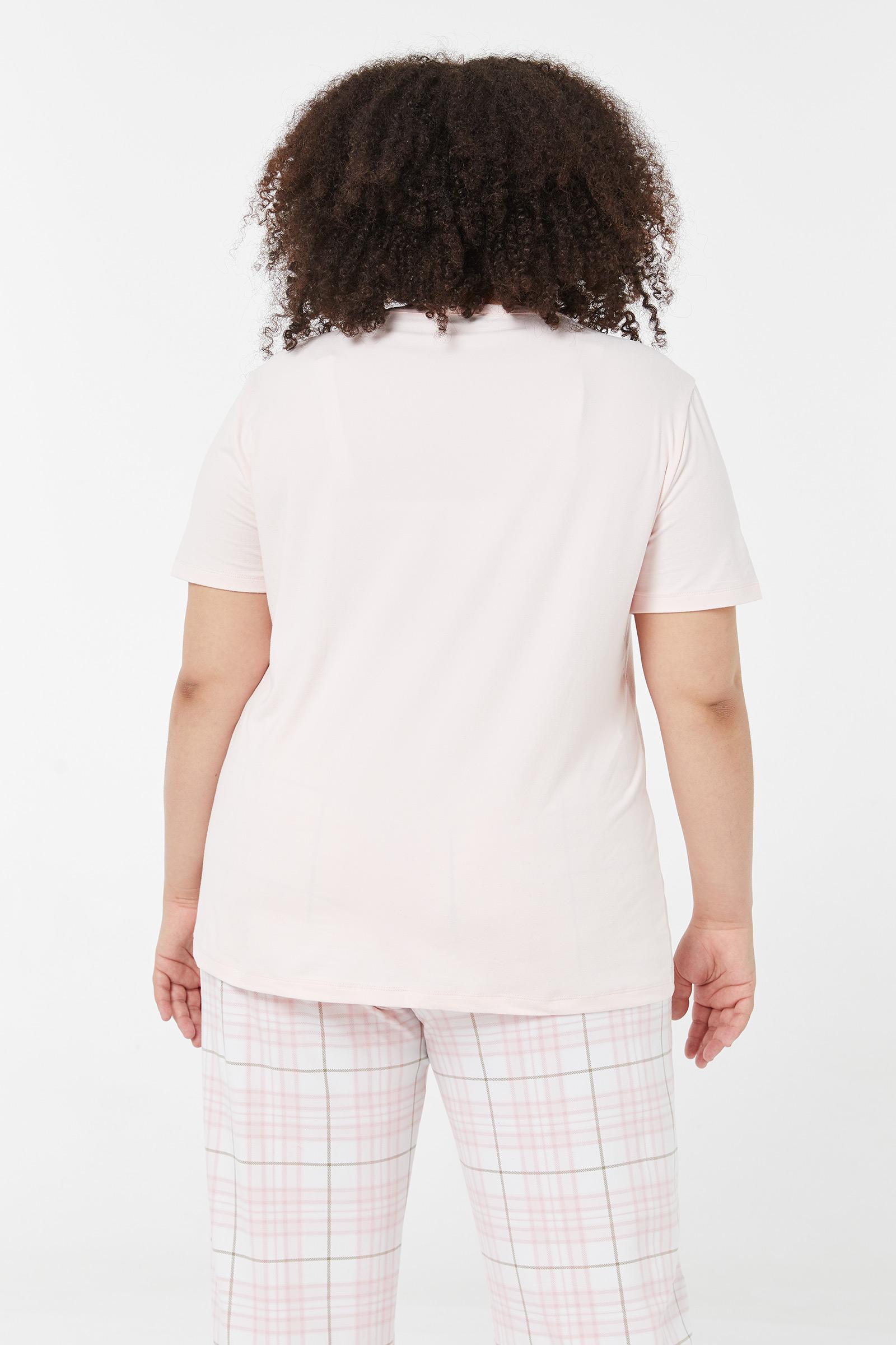 T-shirt pyjama Taille Plus