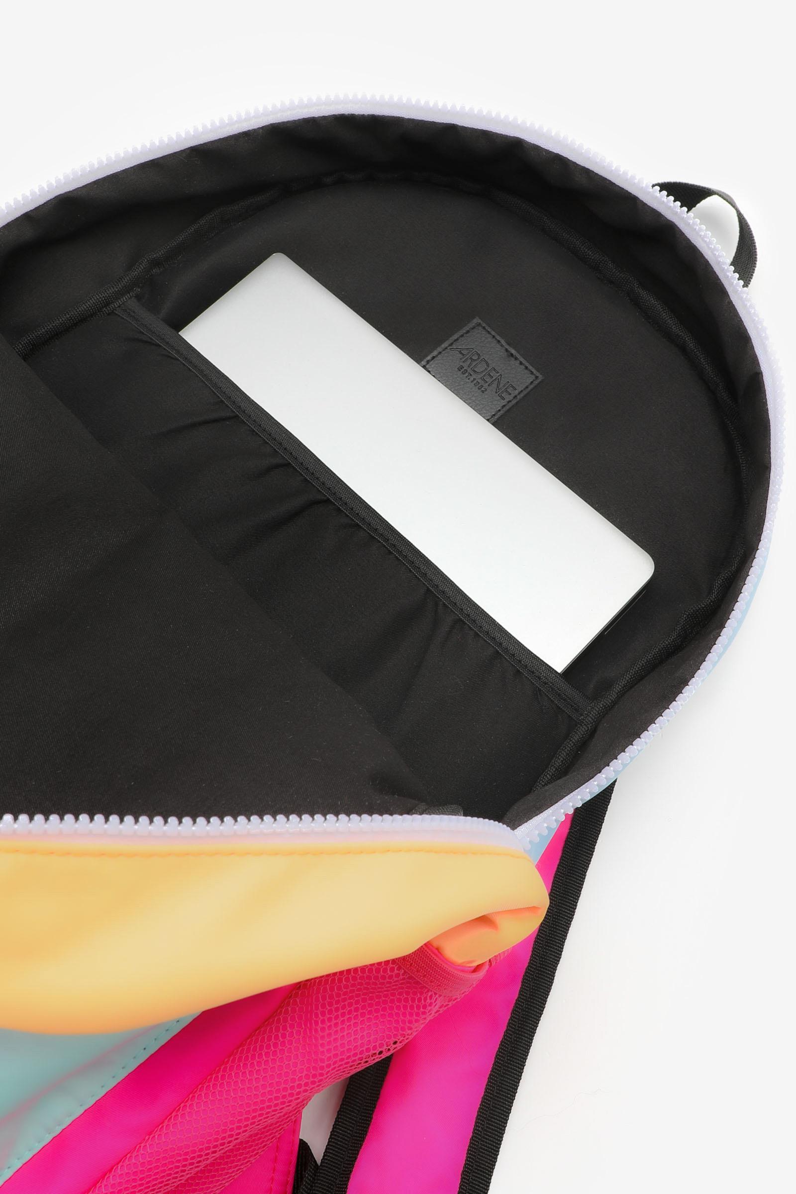 Color Block Waterproof Backpack