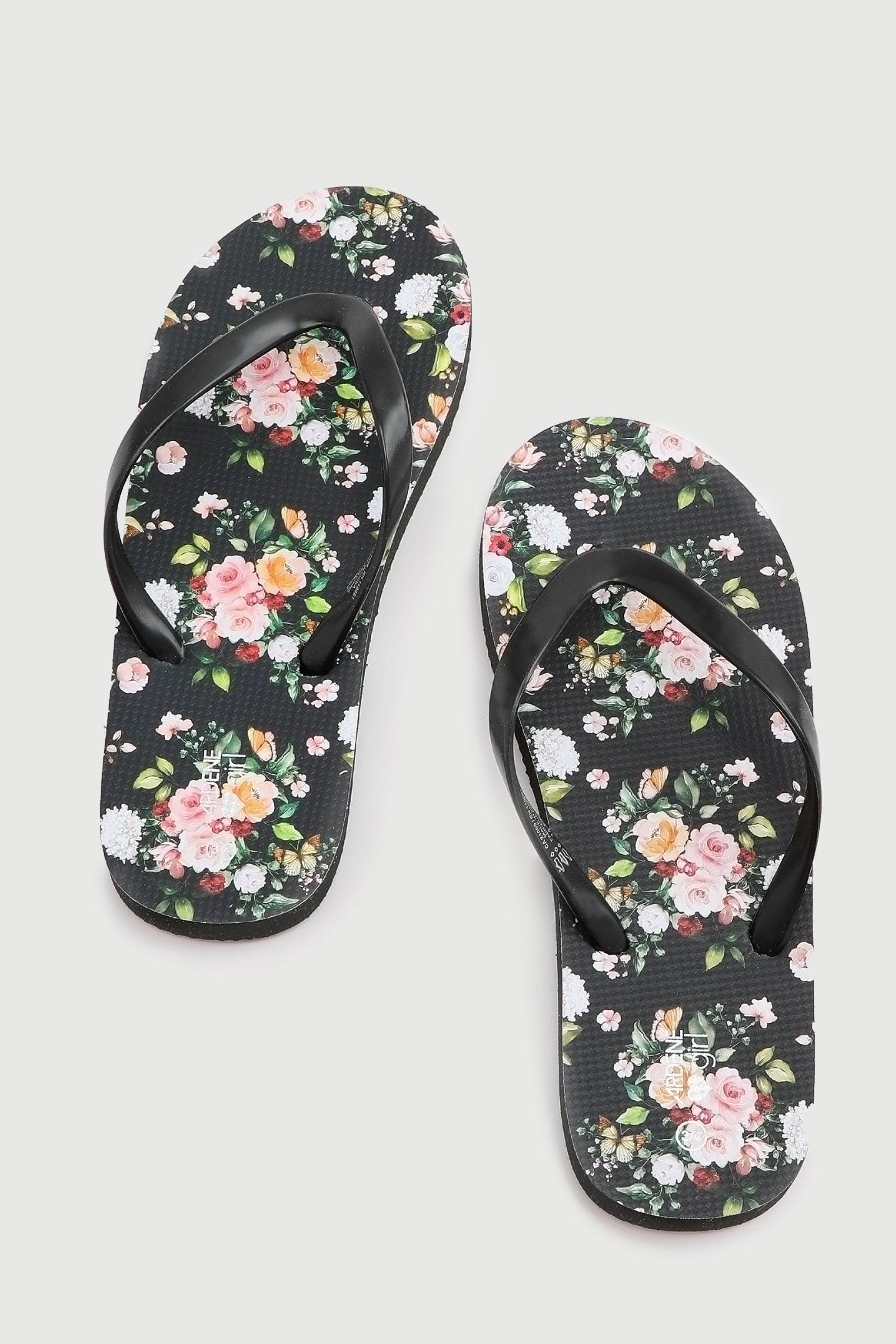 Floral Flip-Flops for Kids