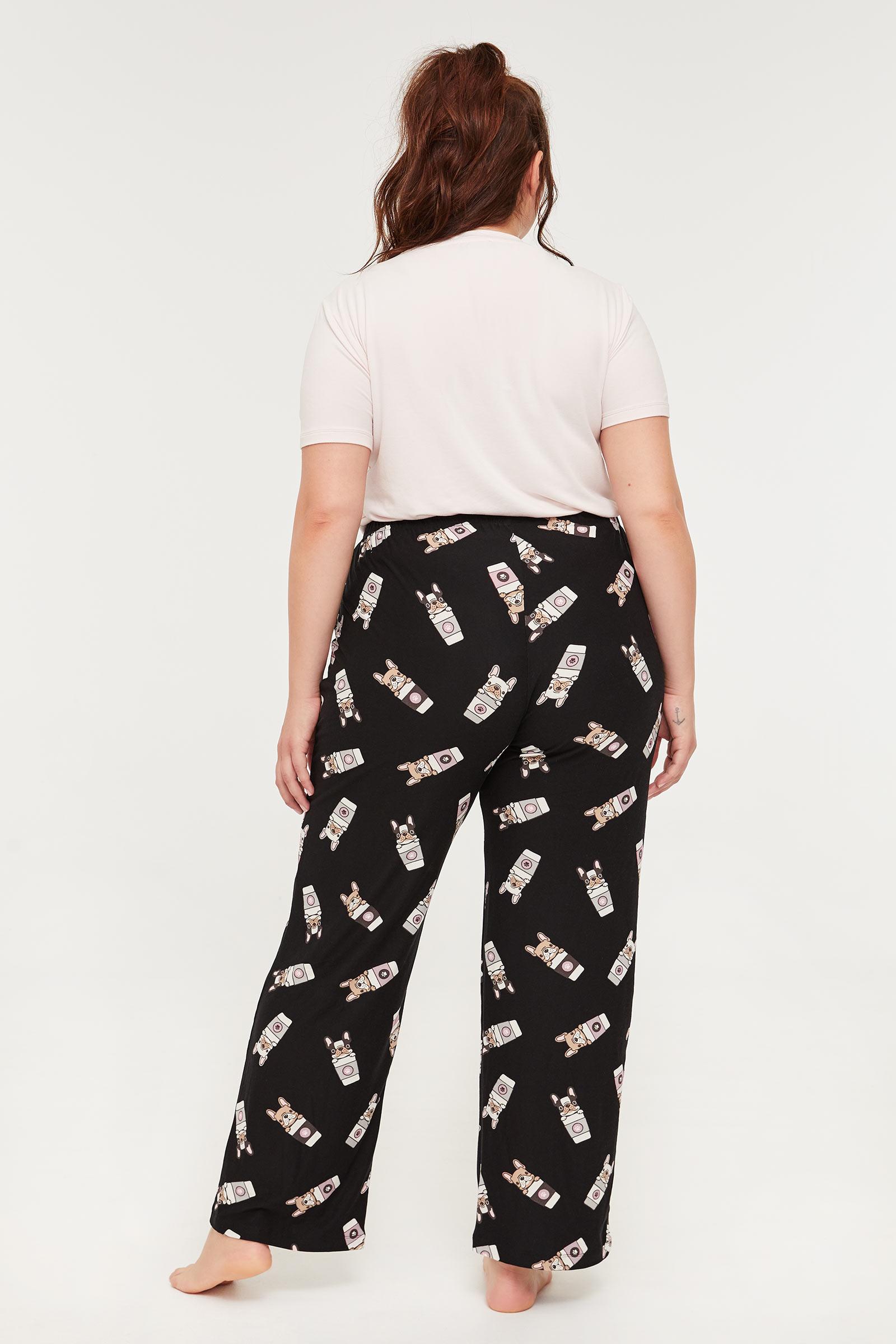 Pantalon de pyjama éco-conscient Taille Plus