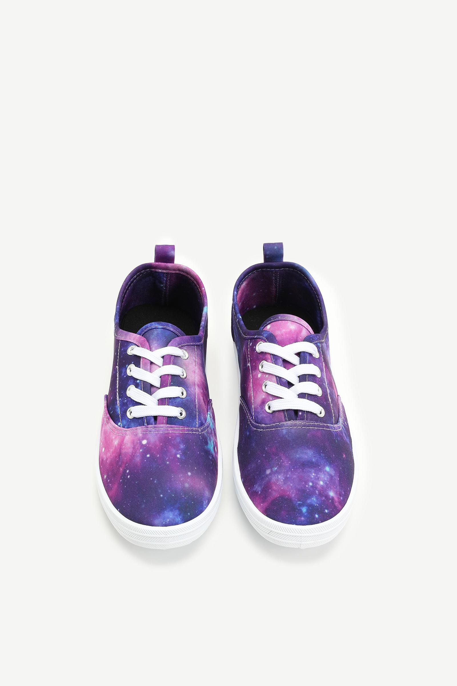 Galaxy Canvas Sneakers