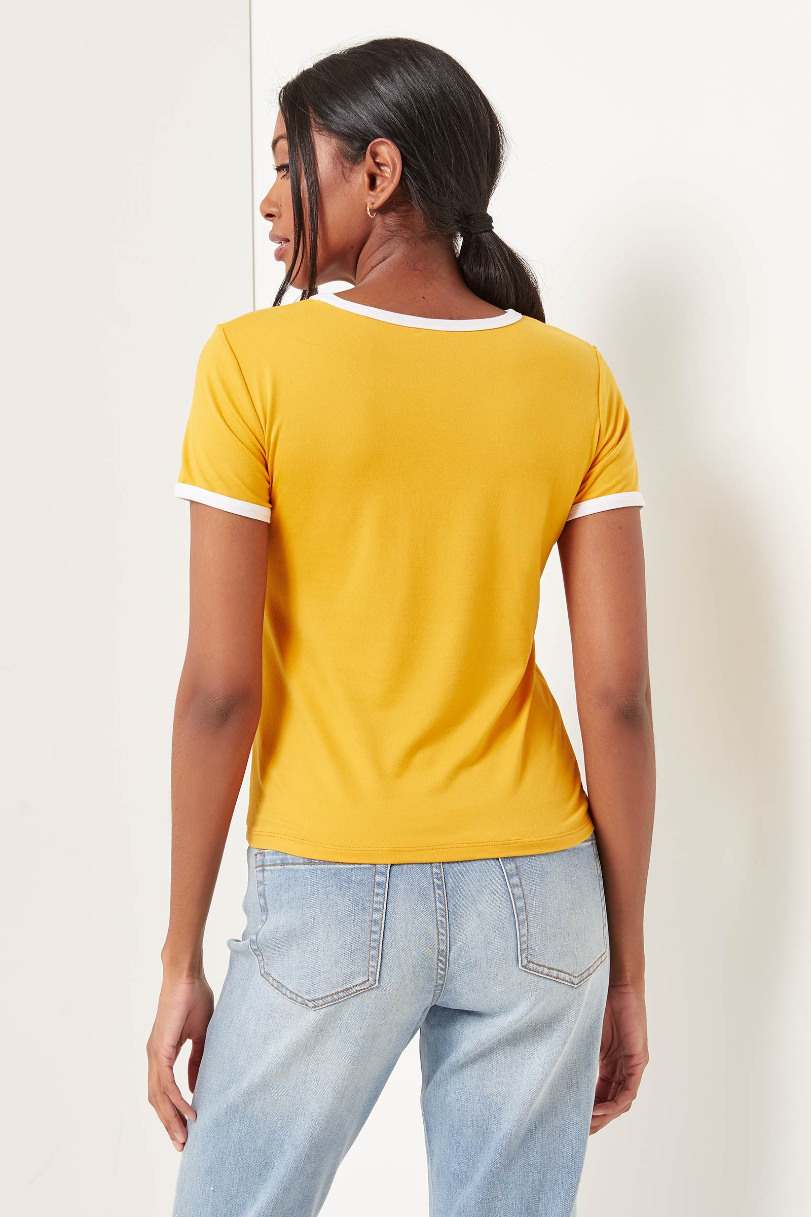 The Simpsons Ringer Tee