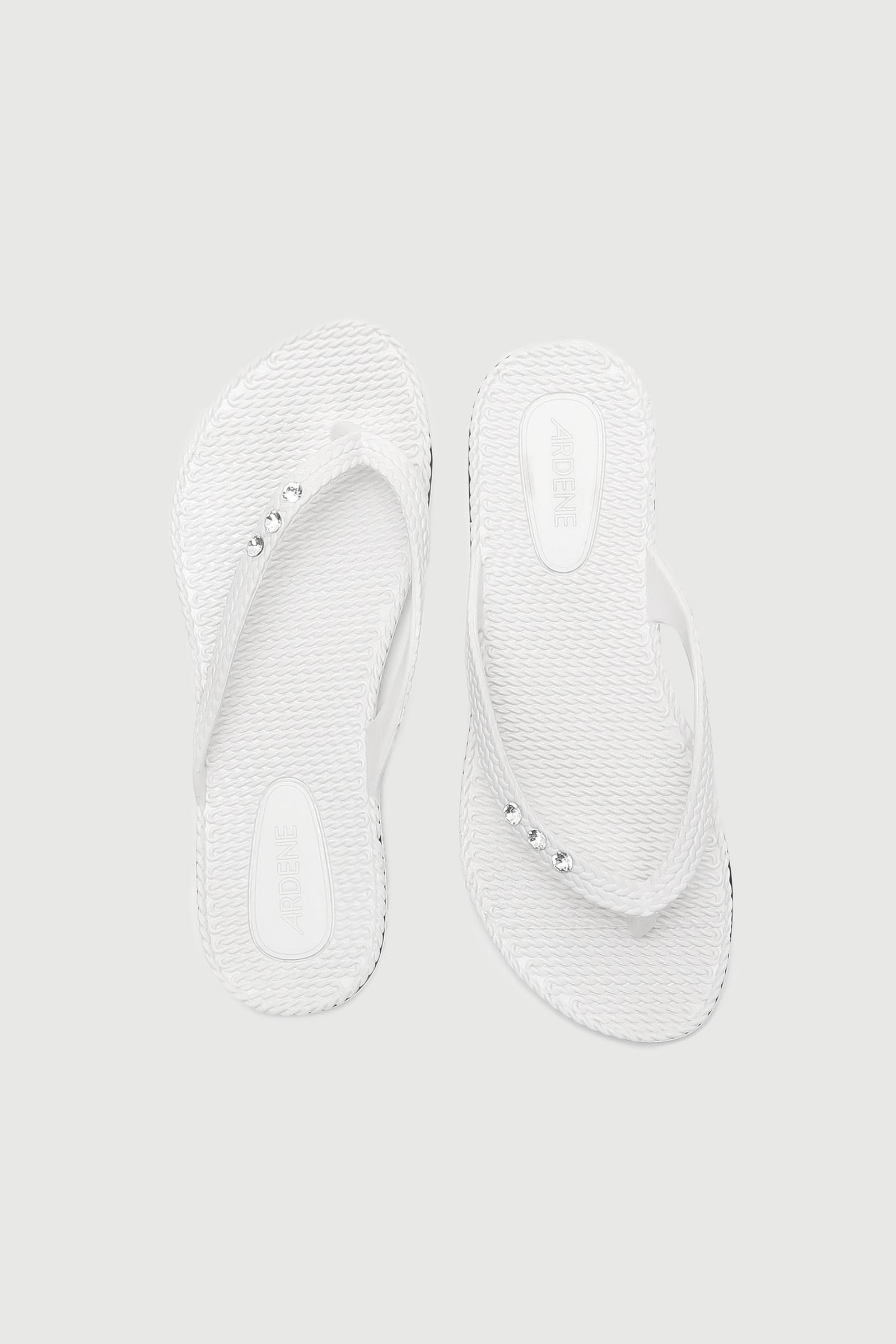 Textured Jelly Flip-Flops