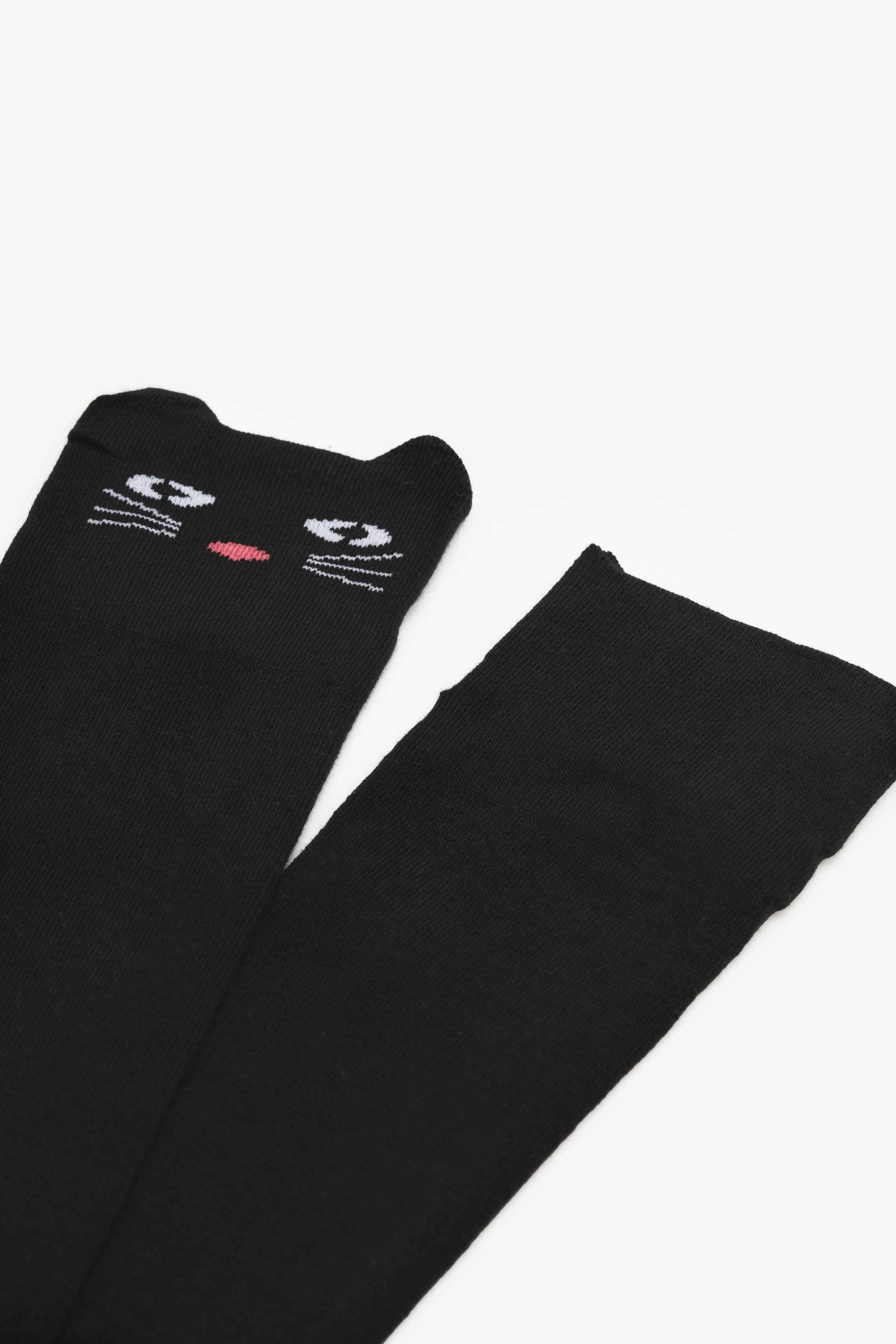Chaussettes de chat mi-cuisse