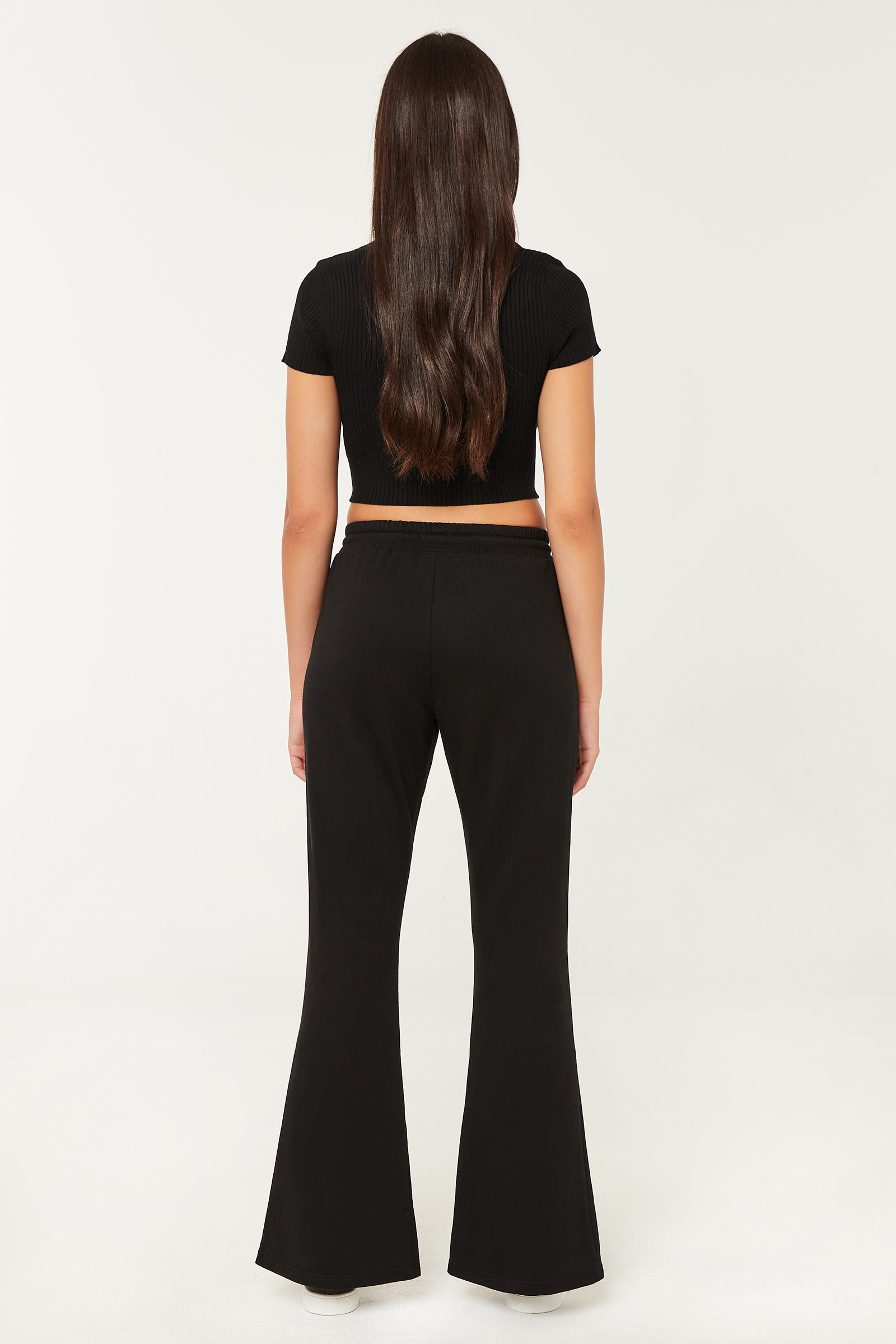Joggers with Front Slit