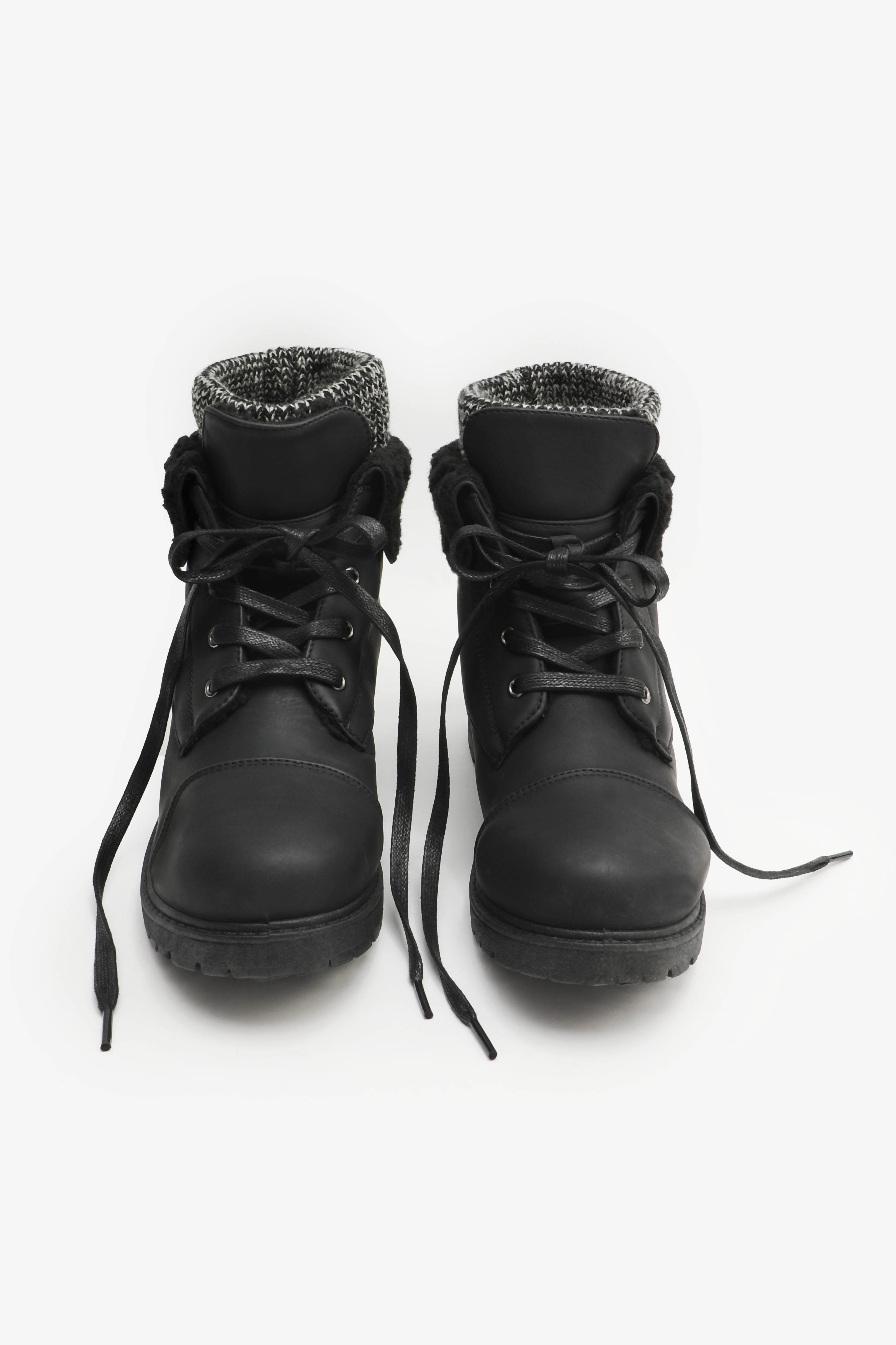 Flip Top Hiker Boots