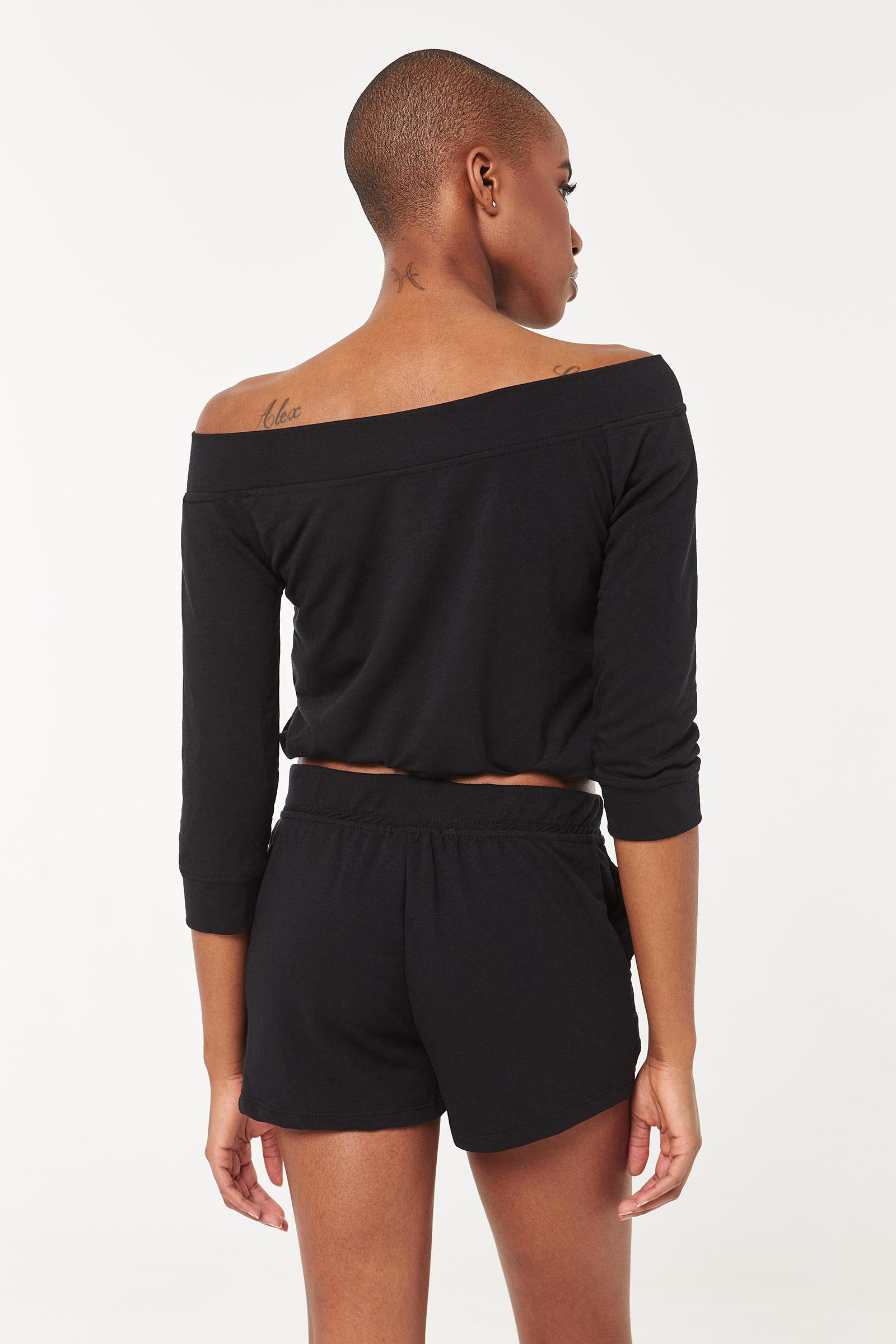 Laced Drawstring Shorts
