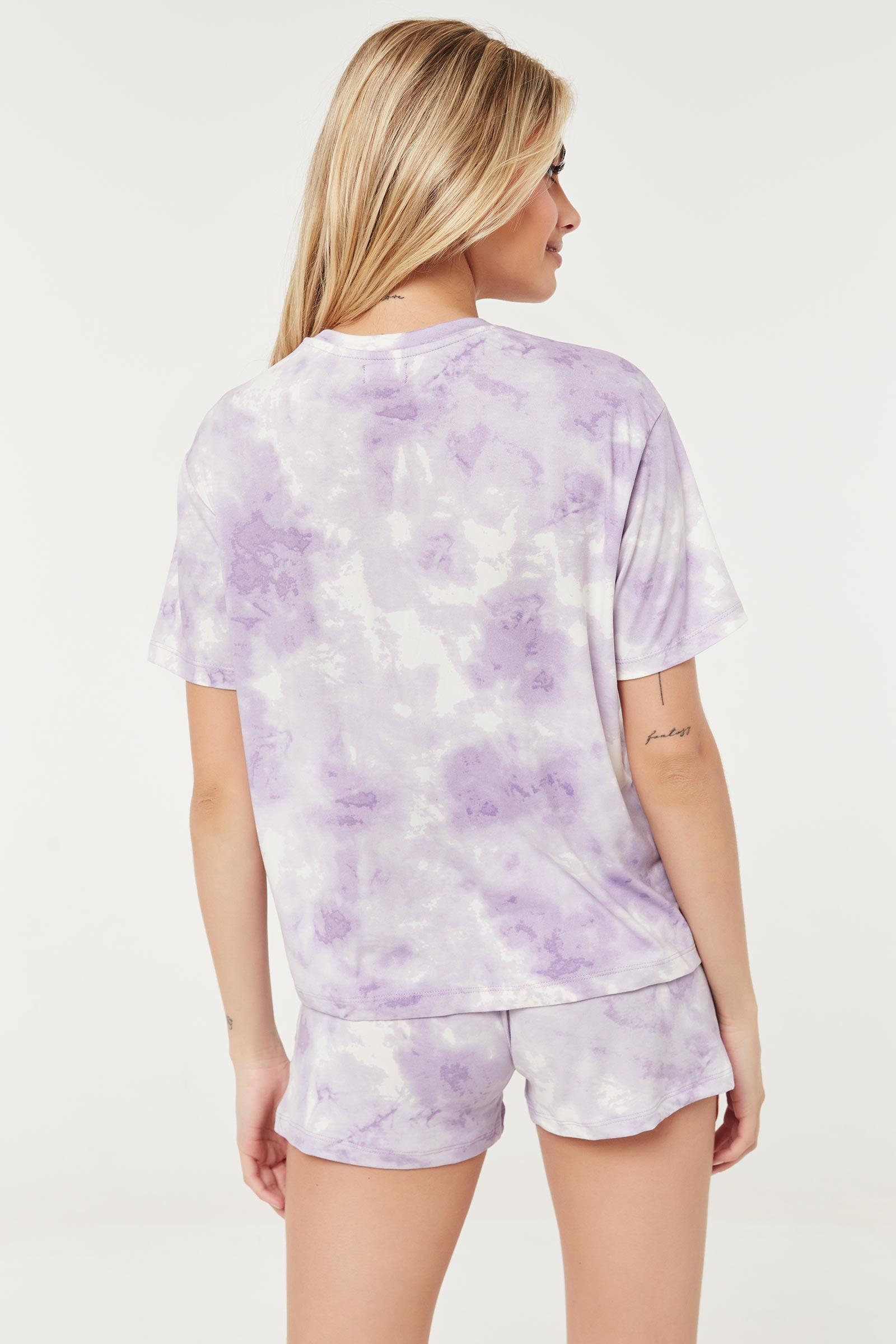 Ensemble pyjama tie-dye