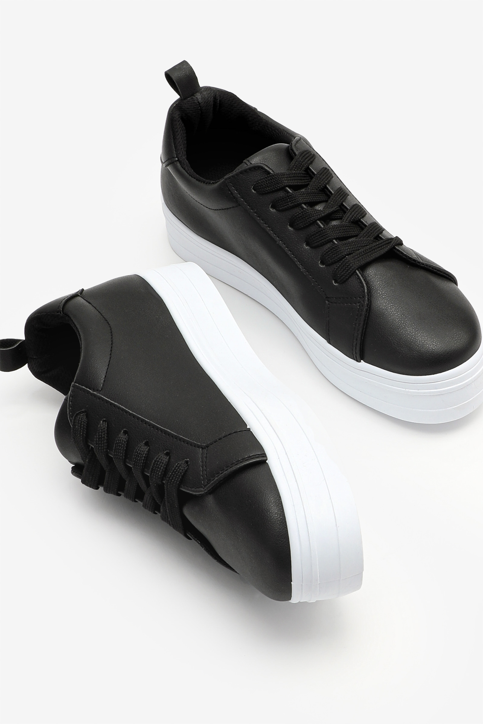 Platform Laced Sneakers