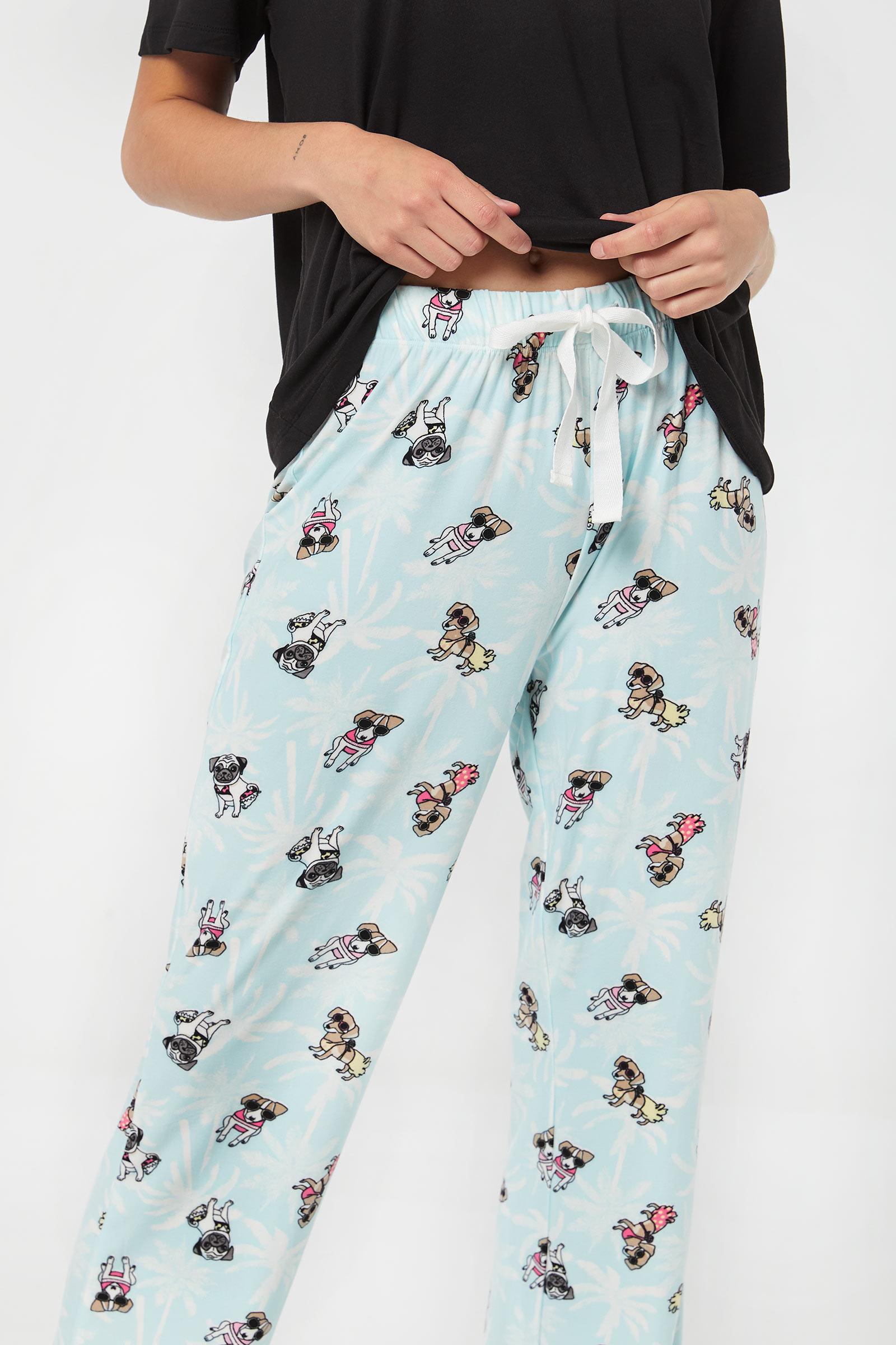 Pantalon pyjama chien cool