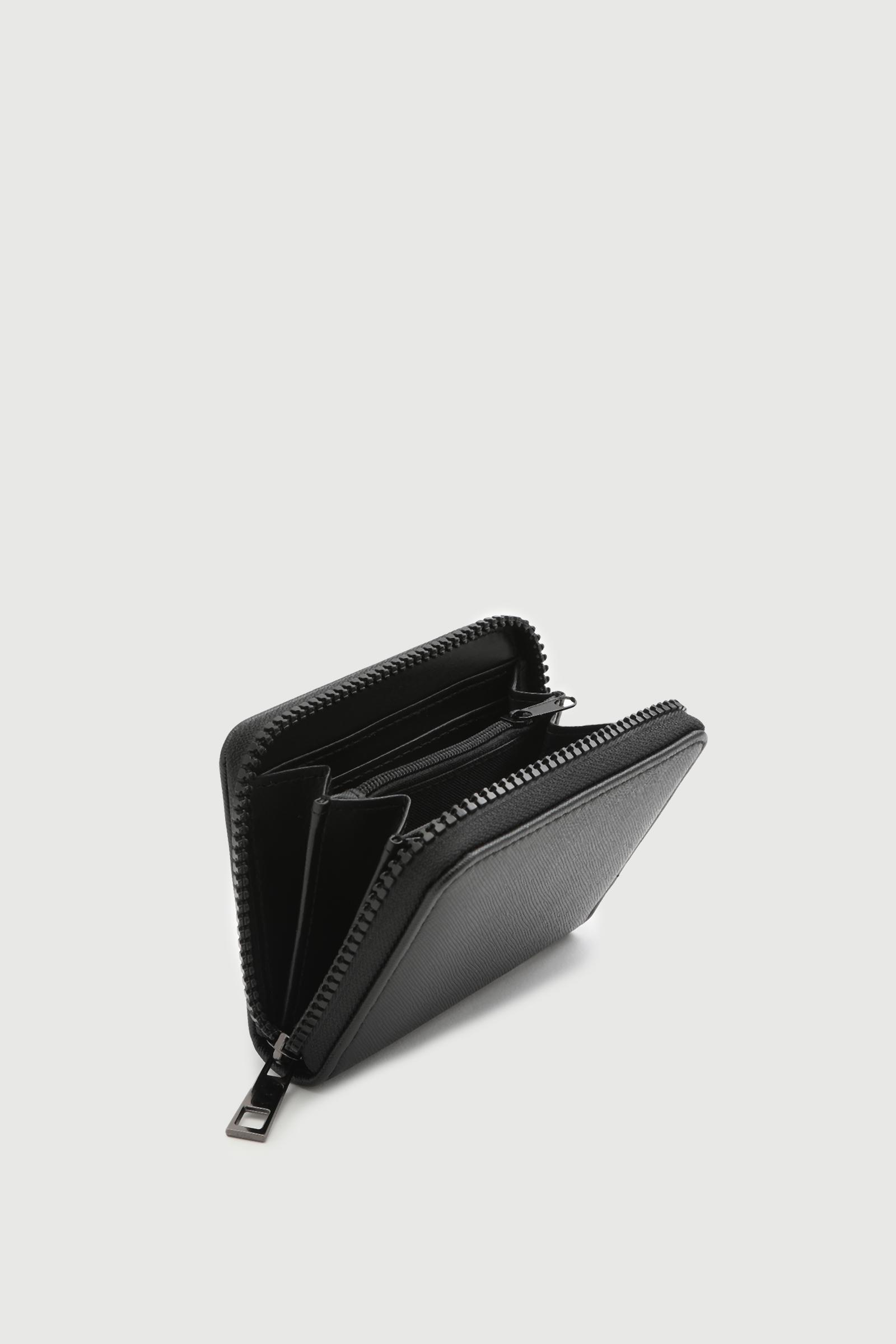 Mini Wallet with Slogan