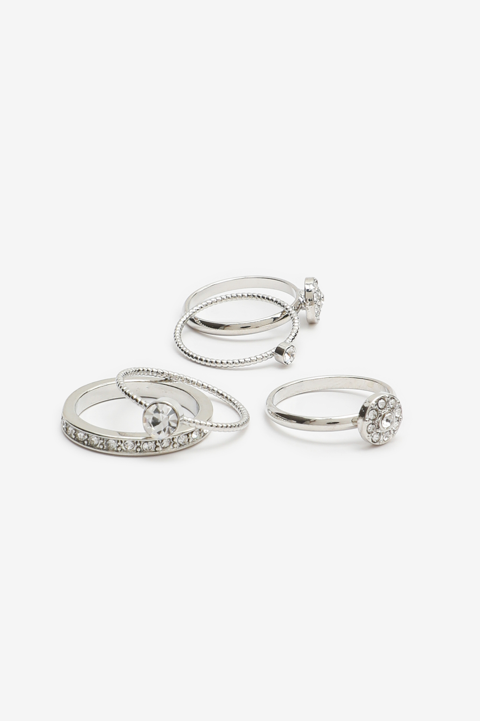Pack of Rings with Stones