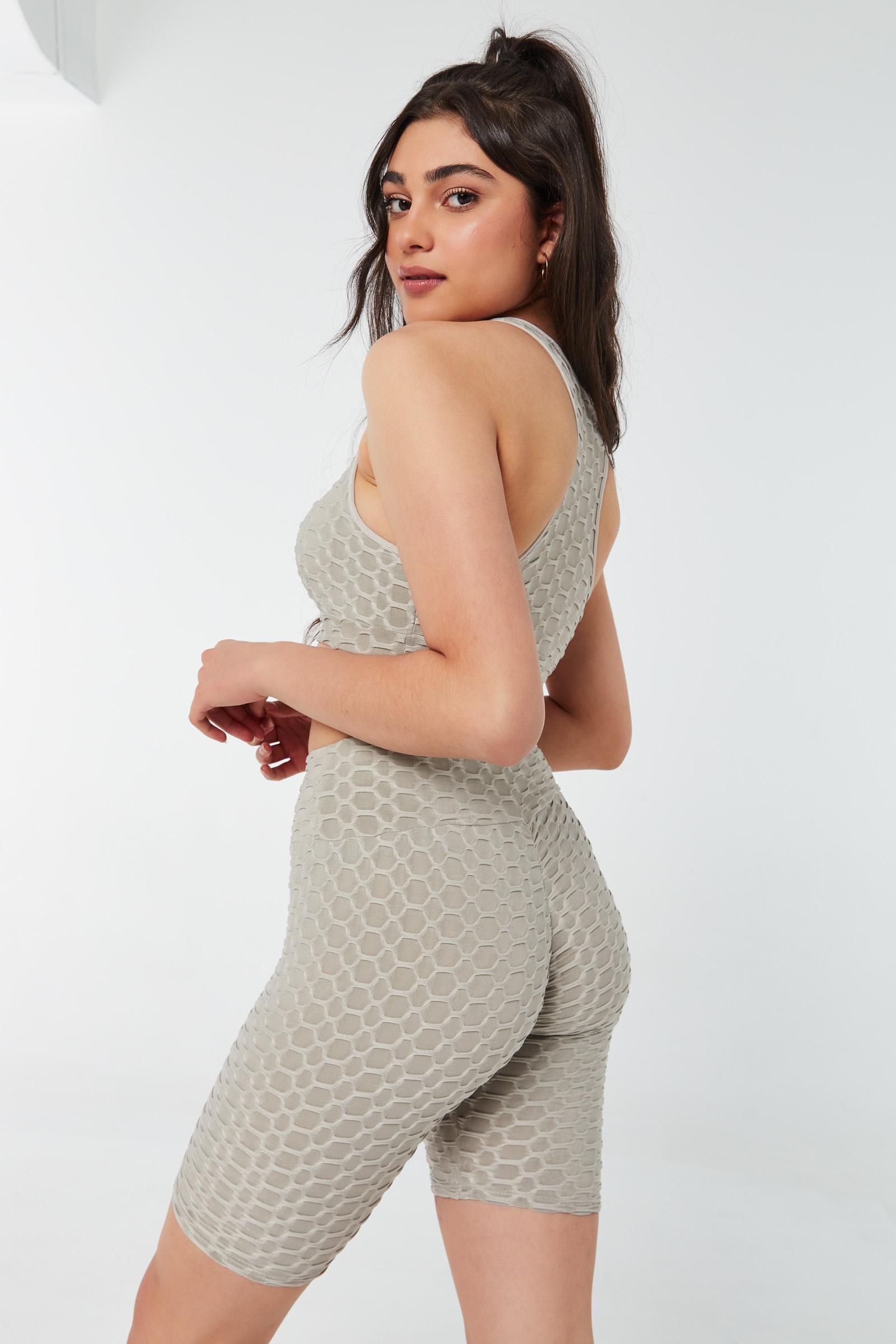 Honeycomb Bralette Top