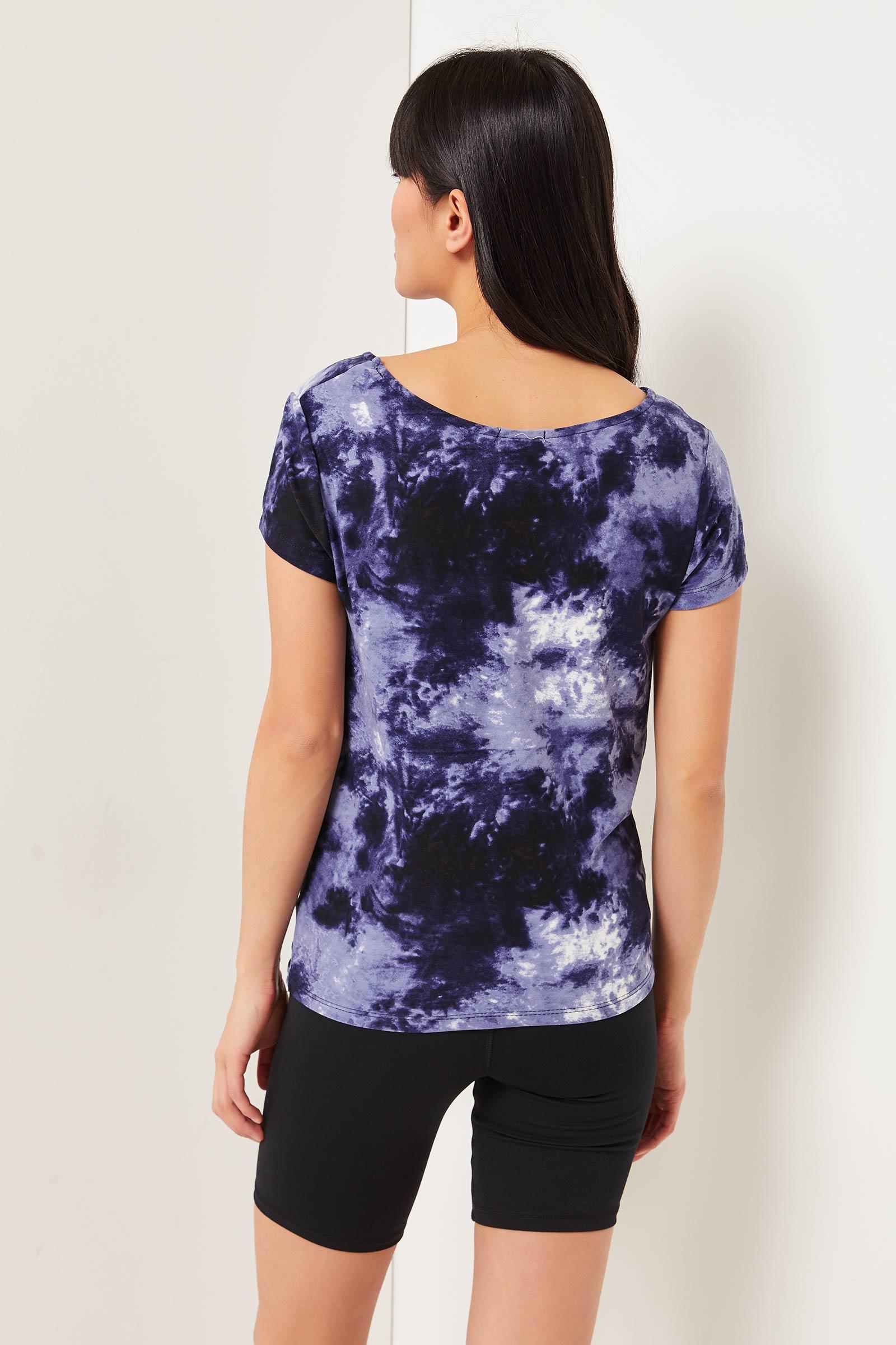 Tie-dye Twisted T-shirt