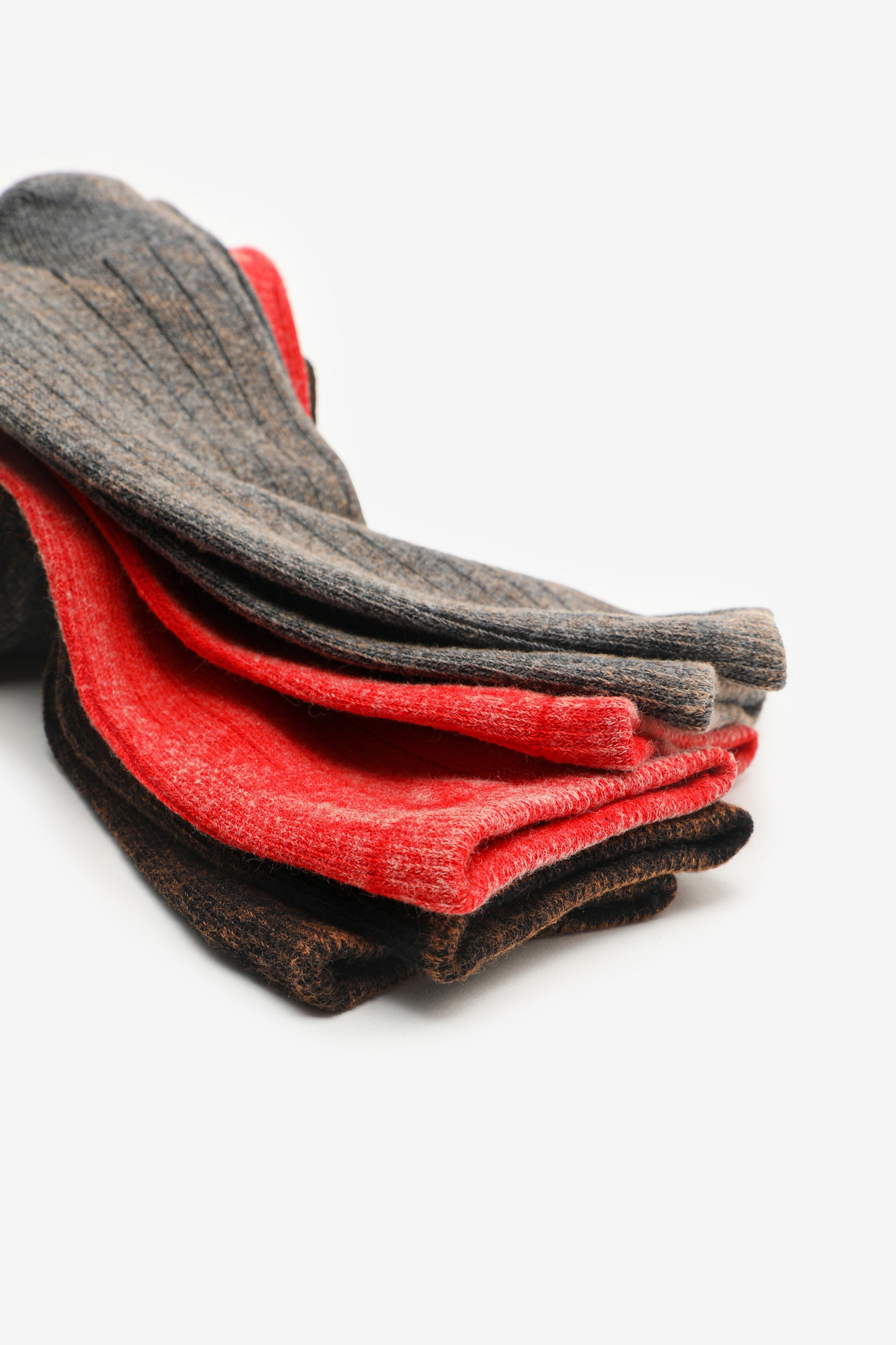 Pack of Washed Crew Socks