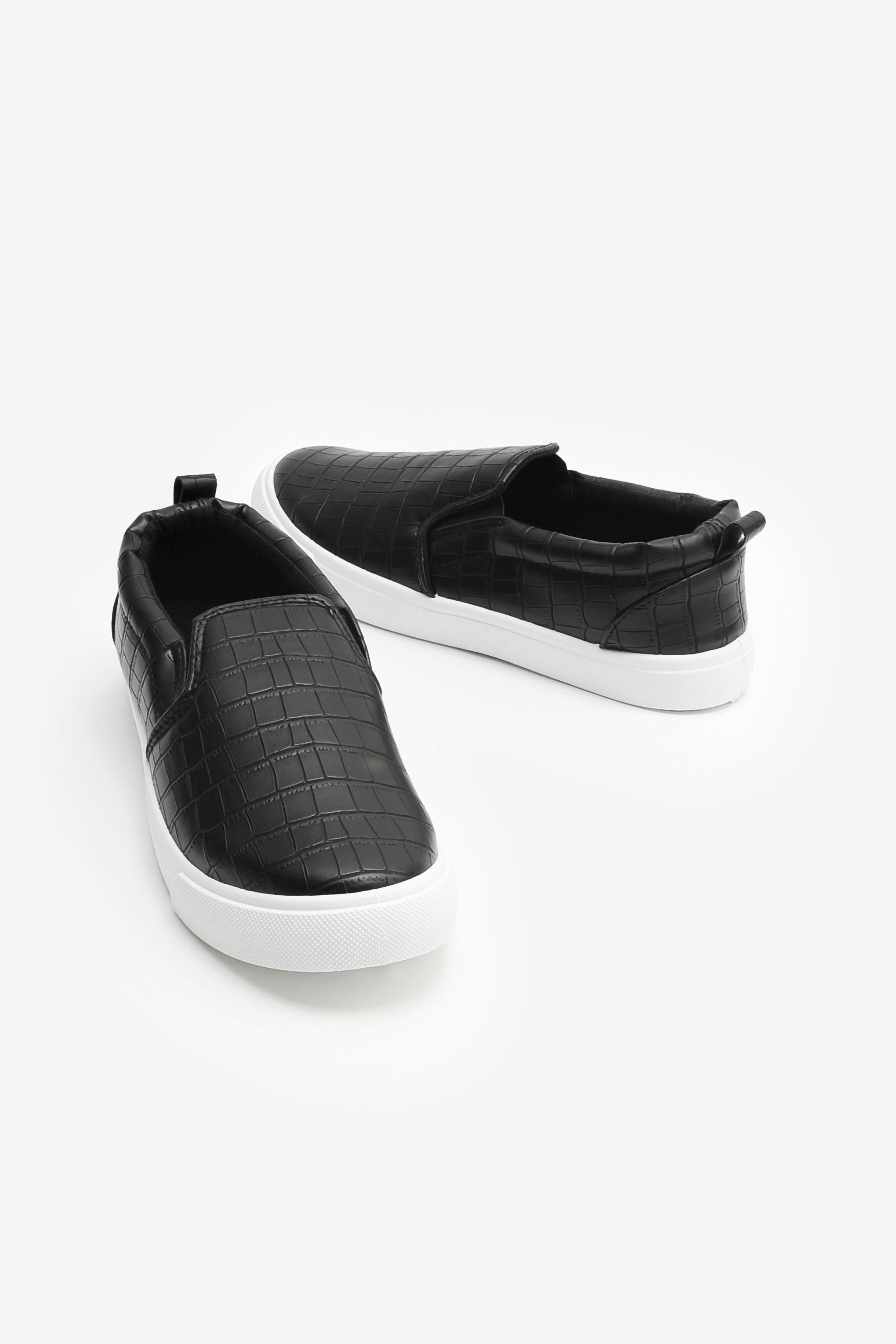 Crocodile Slip-On Sneakers