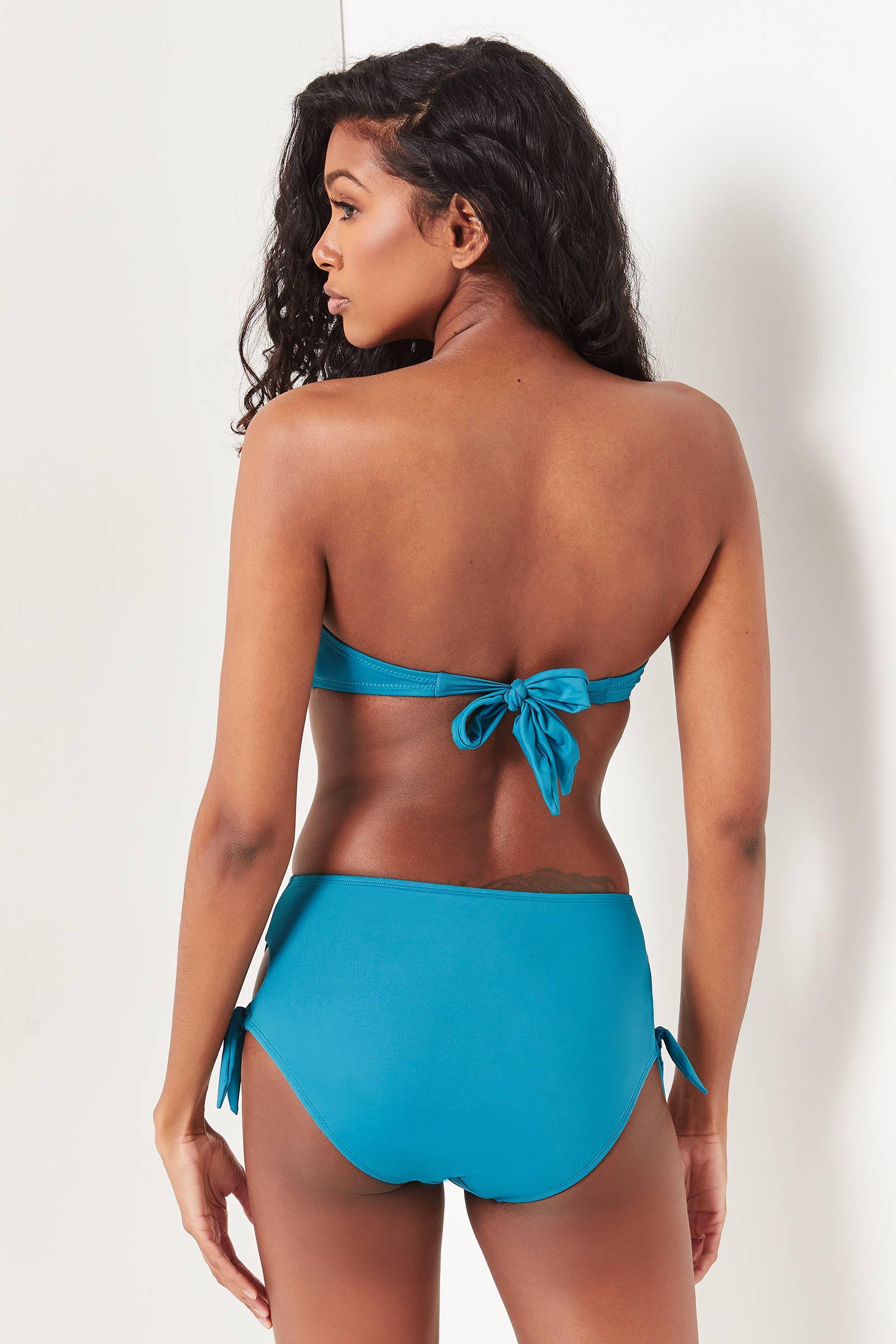 High Waist Full Bikini Bottom