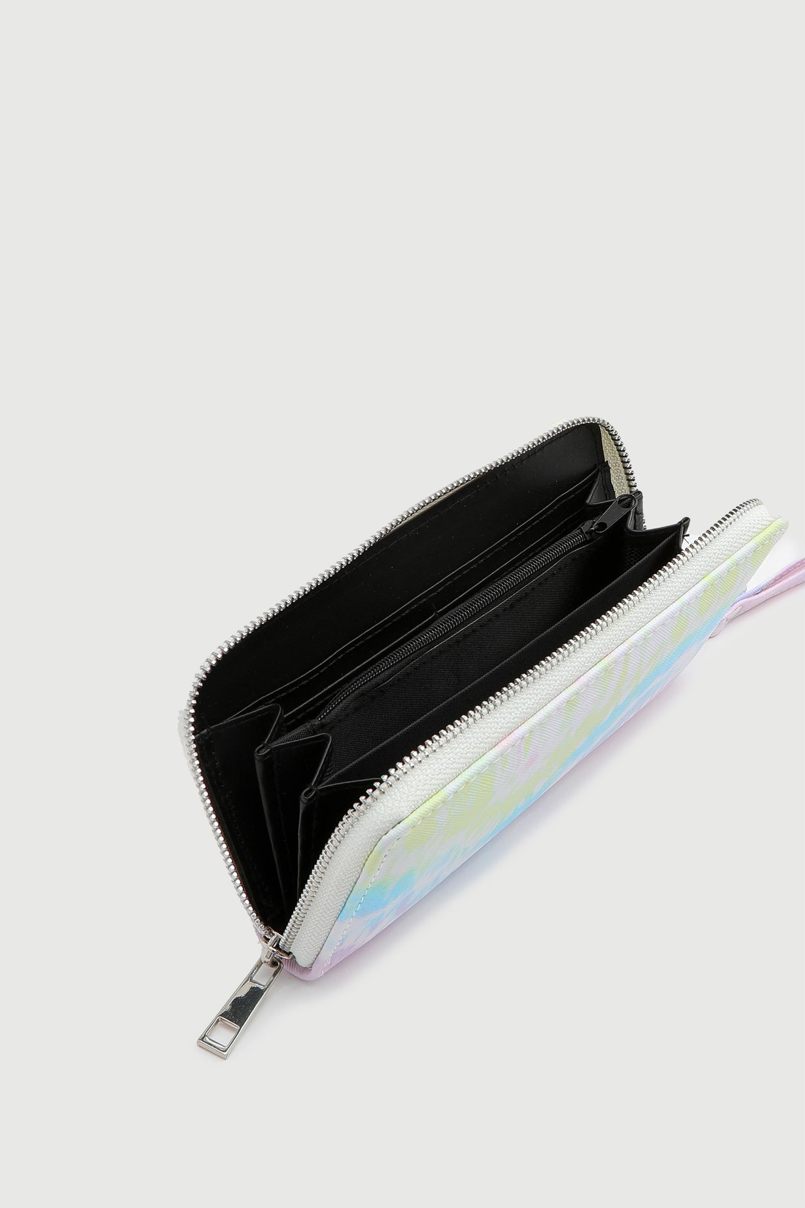 Portefeuille accordéon tie-dye