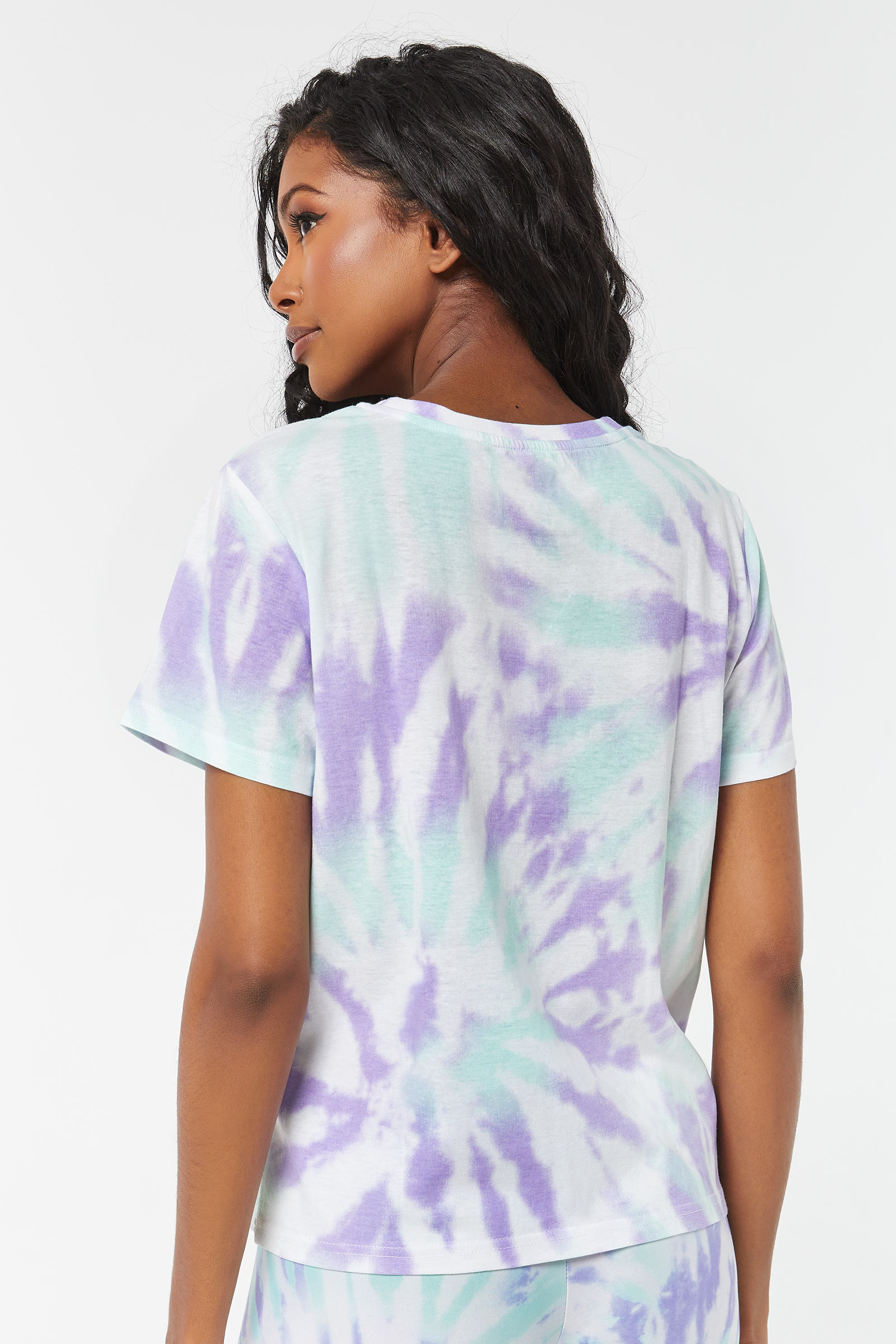 Mickey Mouse Spiral Tie-Dye Tee