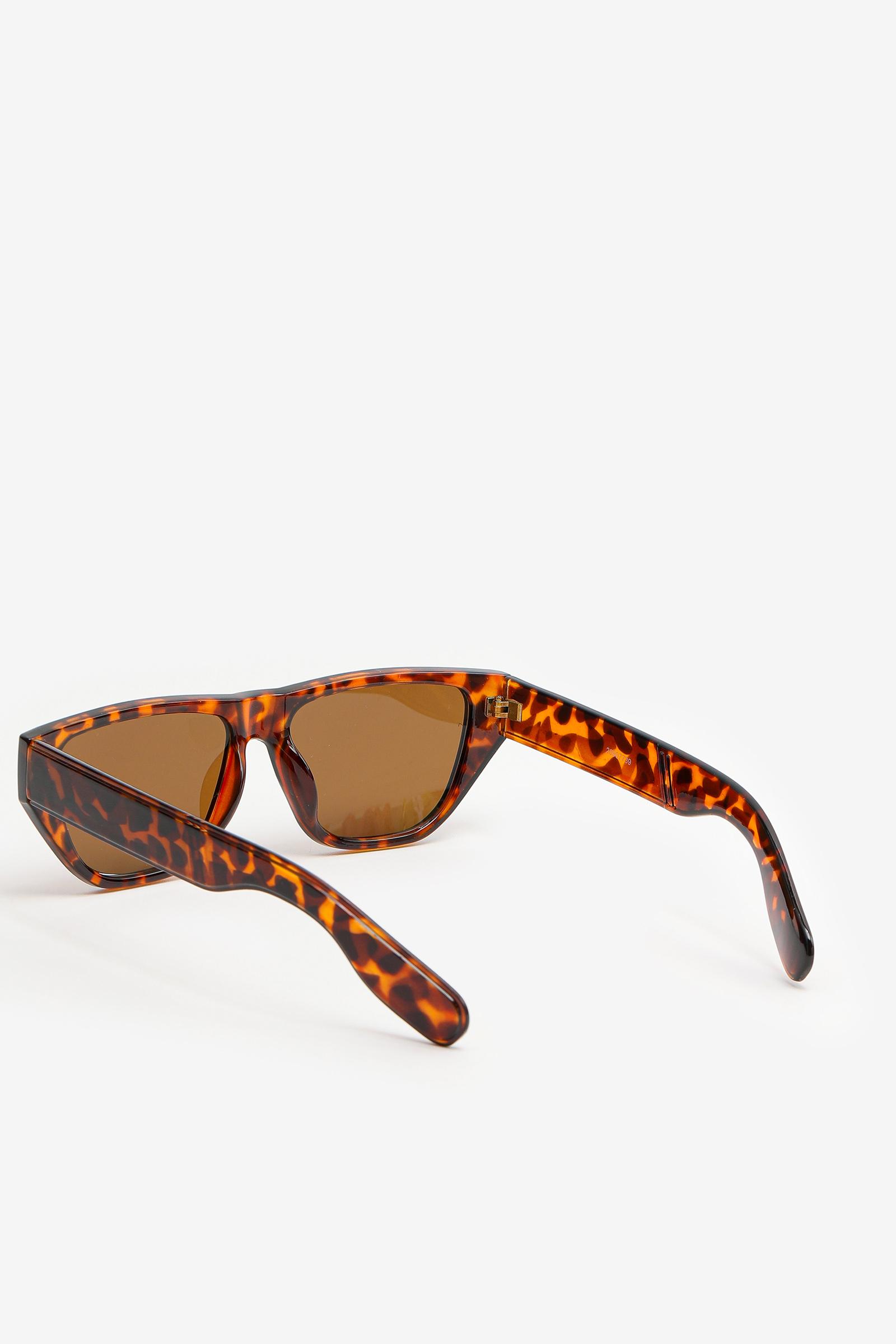 Round Retro Plastic Sunglasses