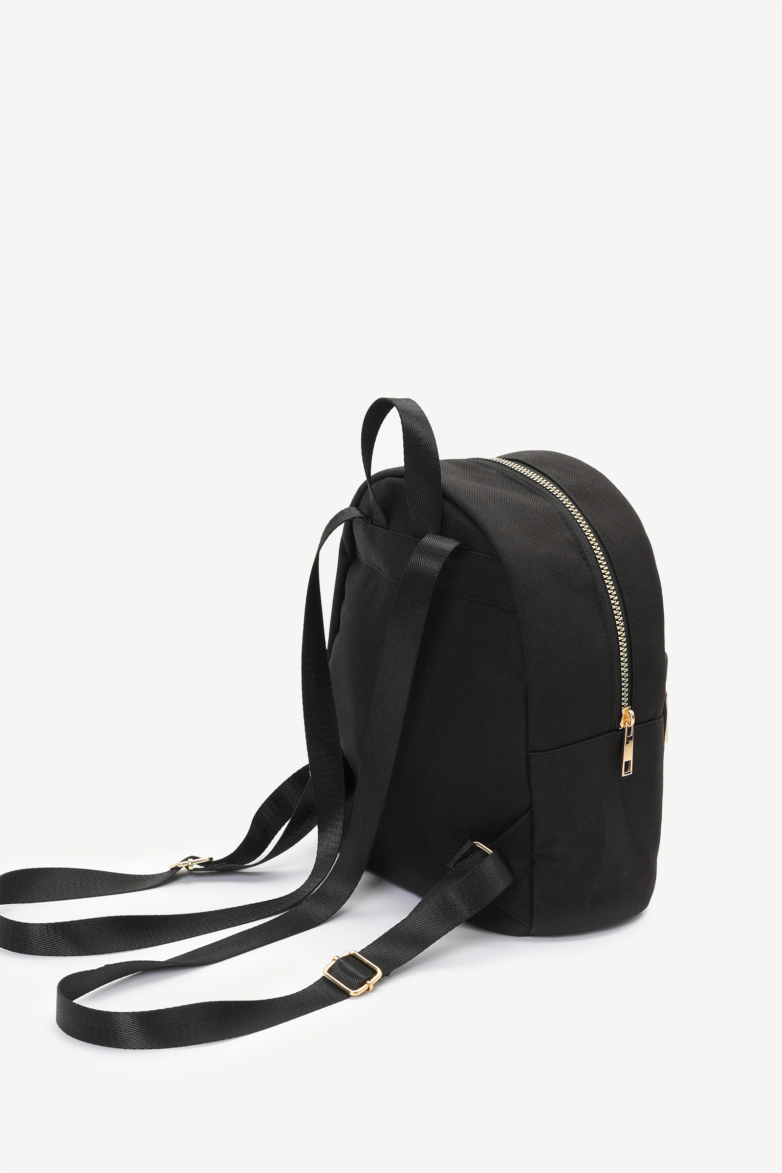 Small Eco-conscious Recycled Fabric Backpack