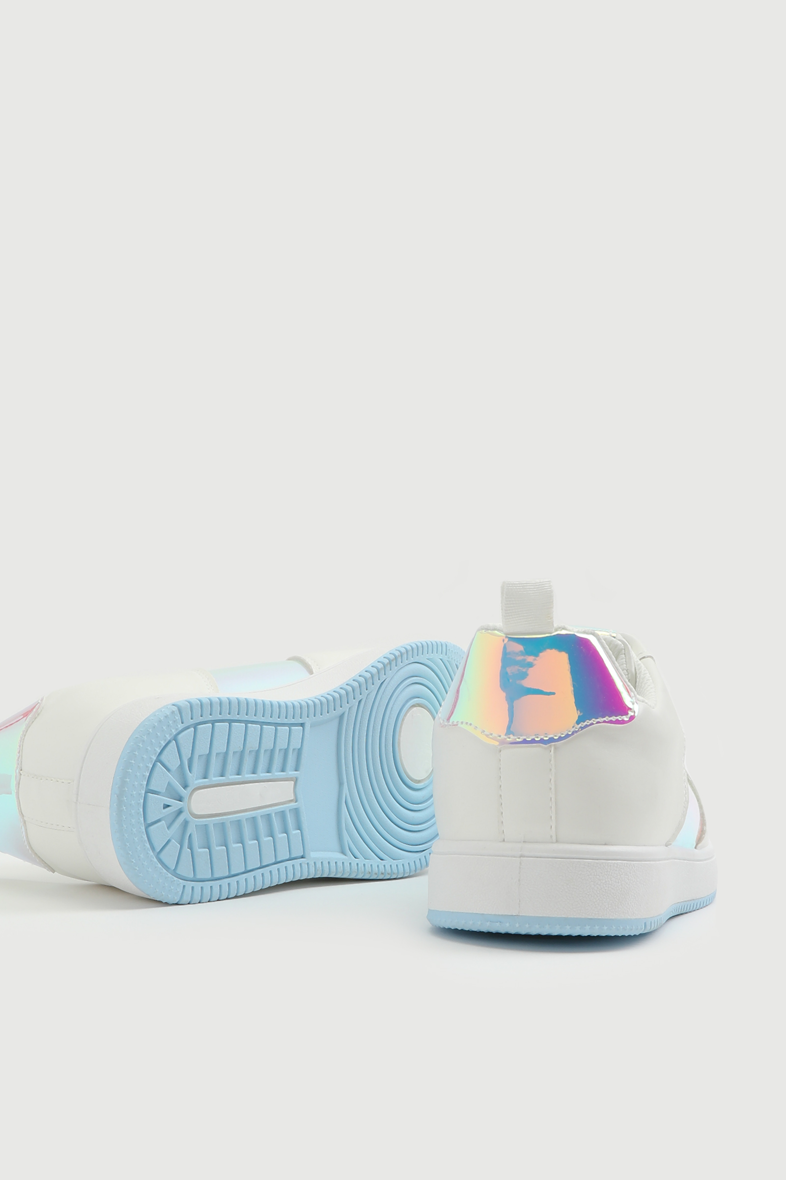 Holographic Panel Sneakers