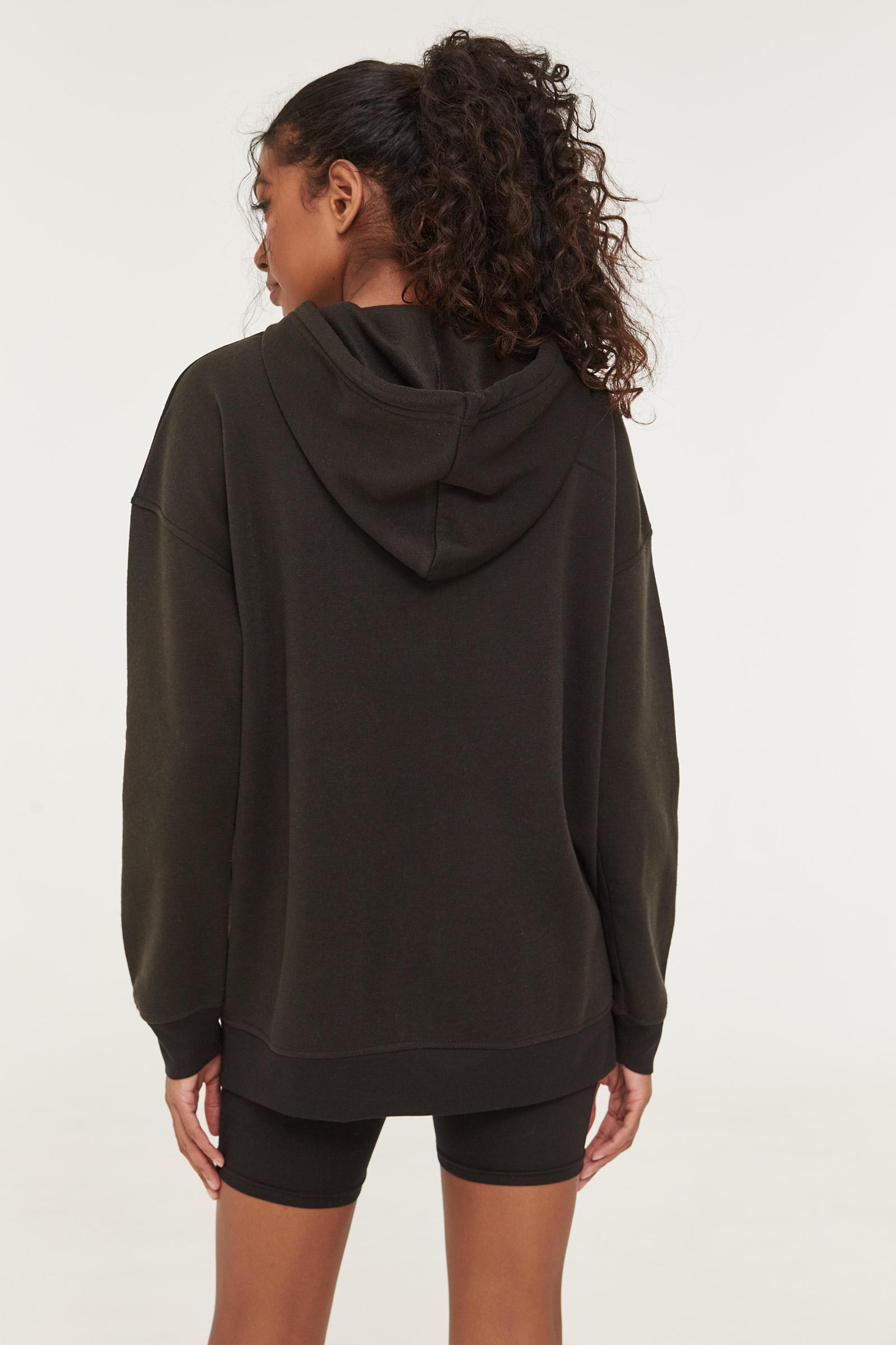 Oversized Zipped Hoodie