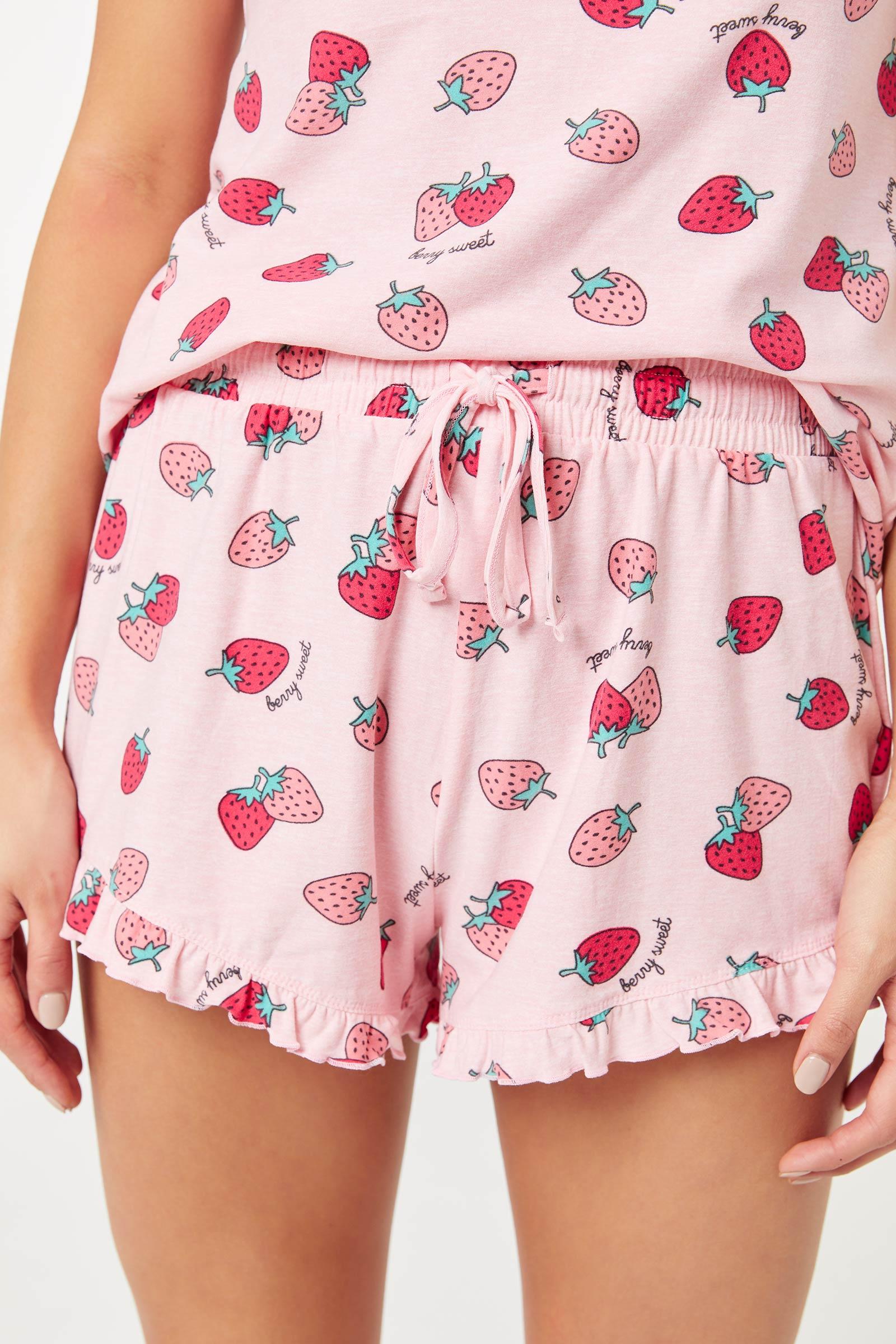 Pyjama fruits 3 pièces