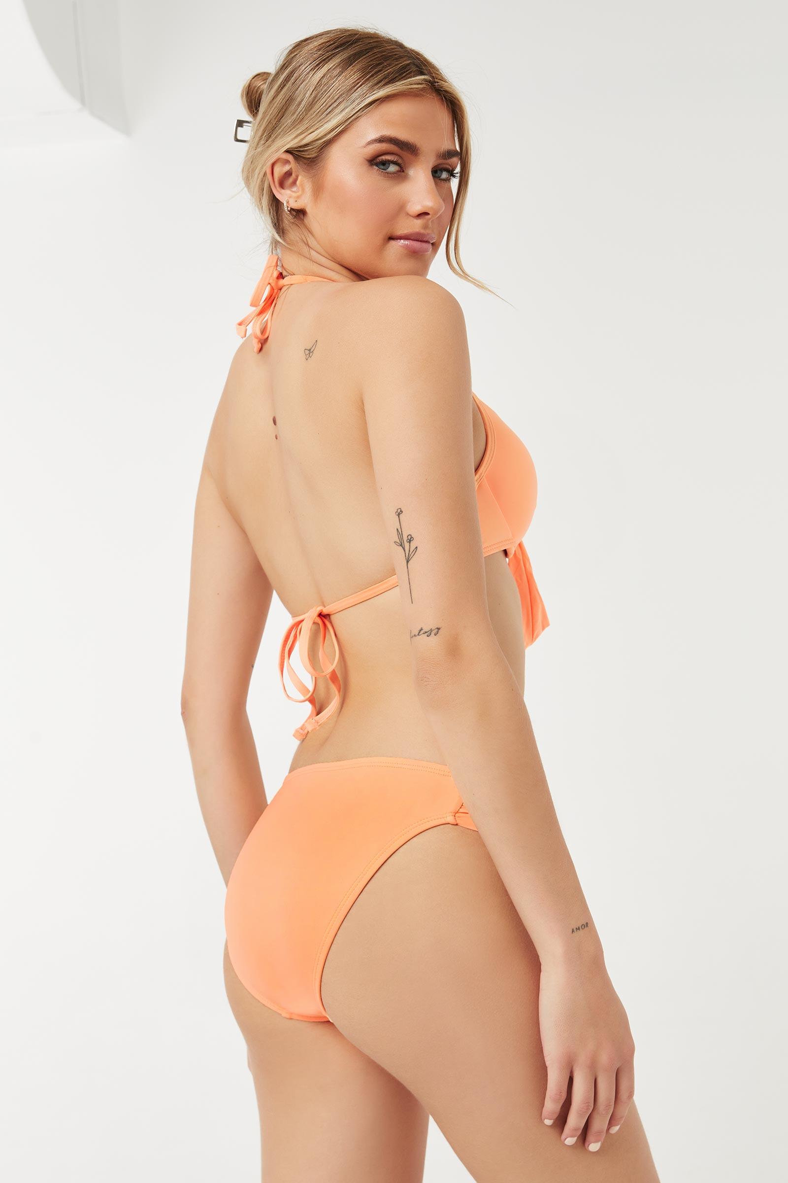 Gathered Bikini Bottom
