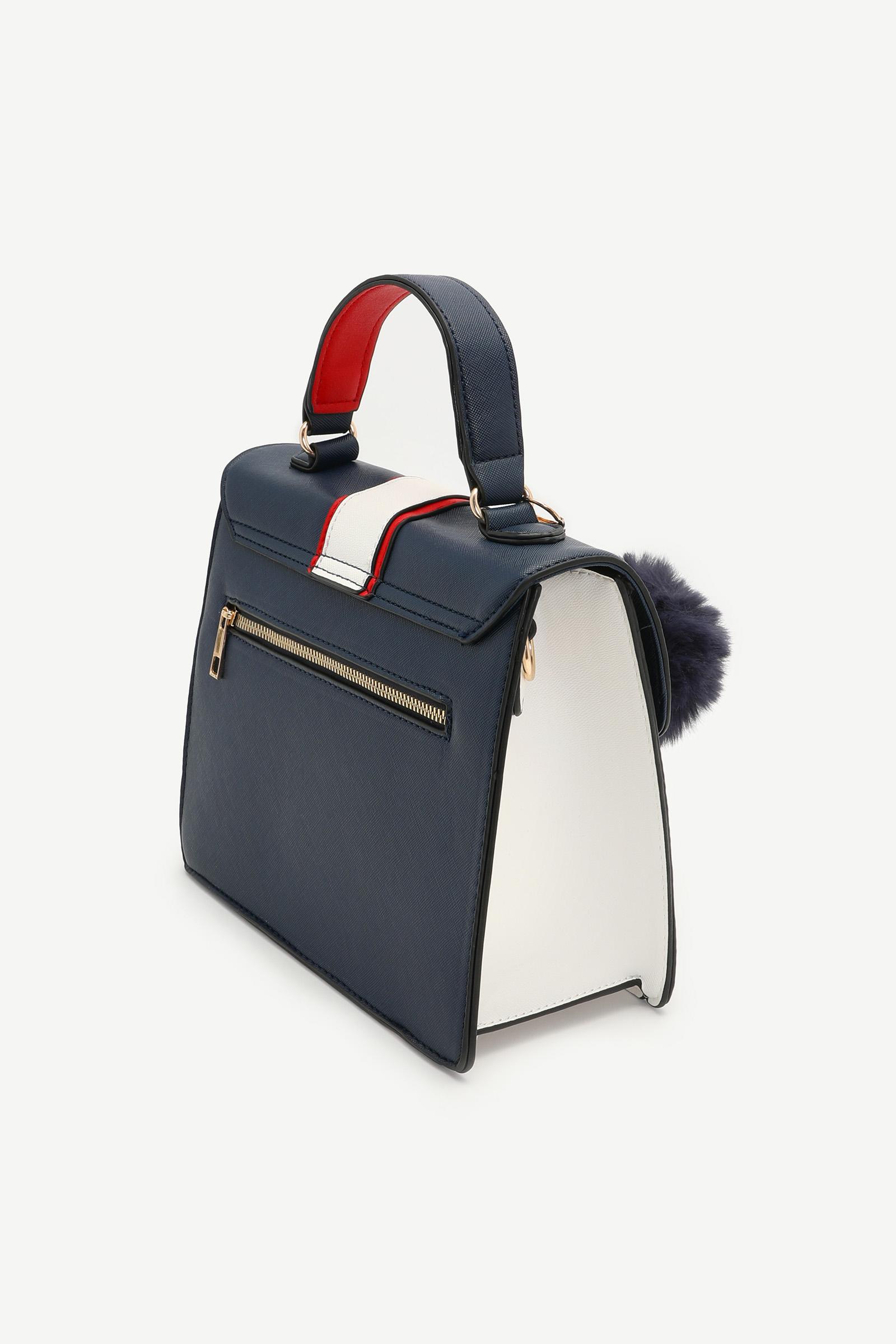 Color Block Crossbody Bag