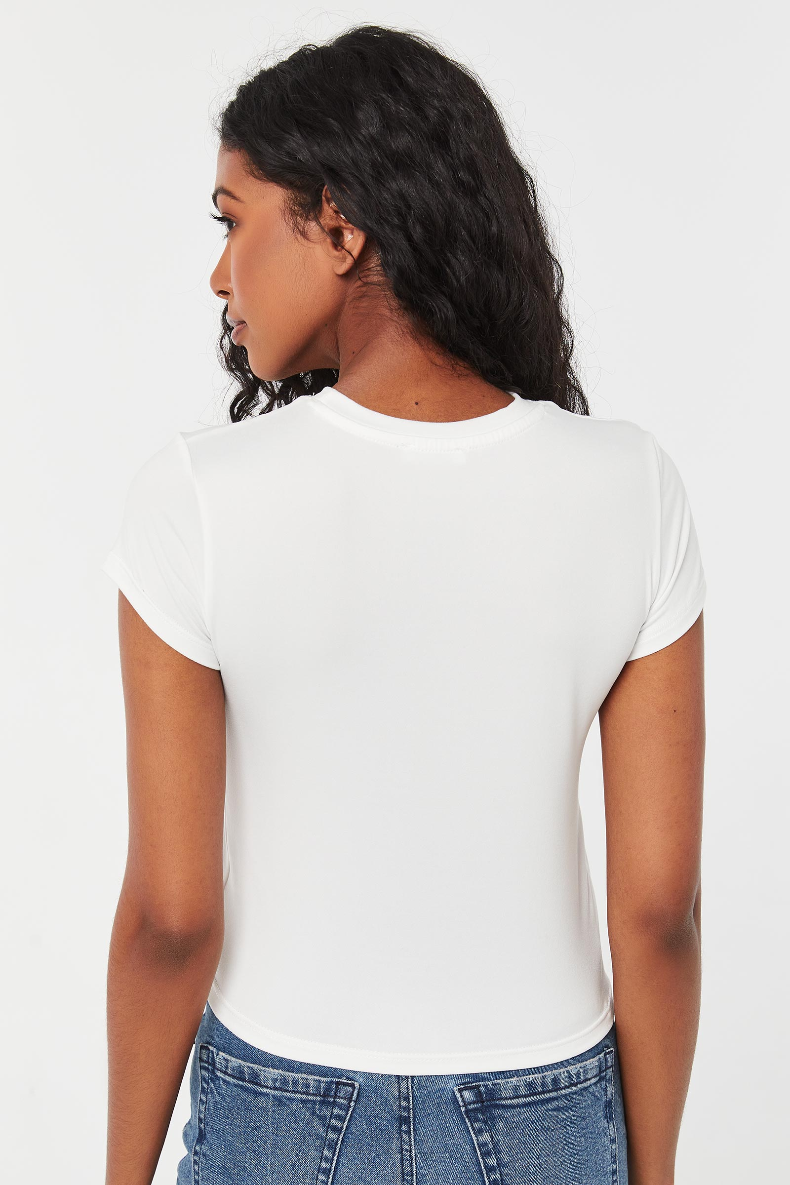 Primrose Crop T-shirt