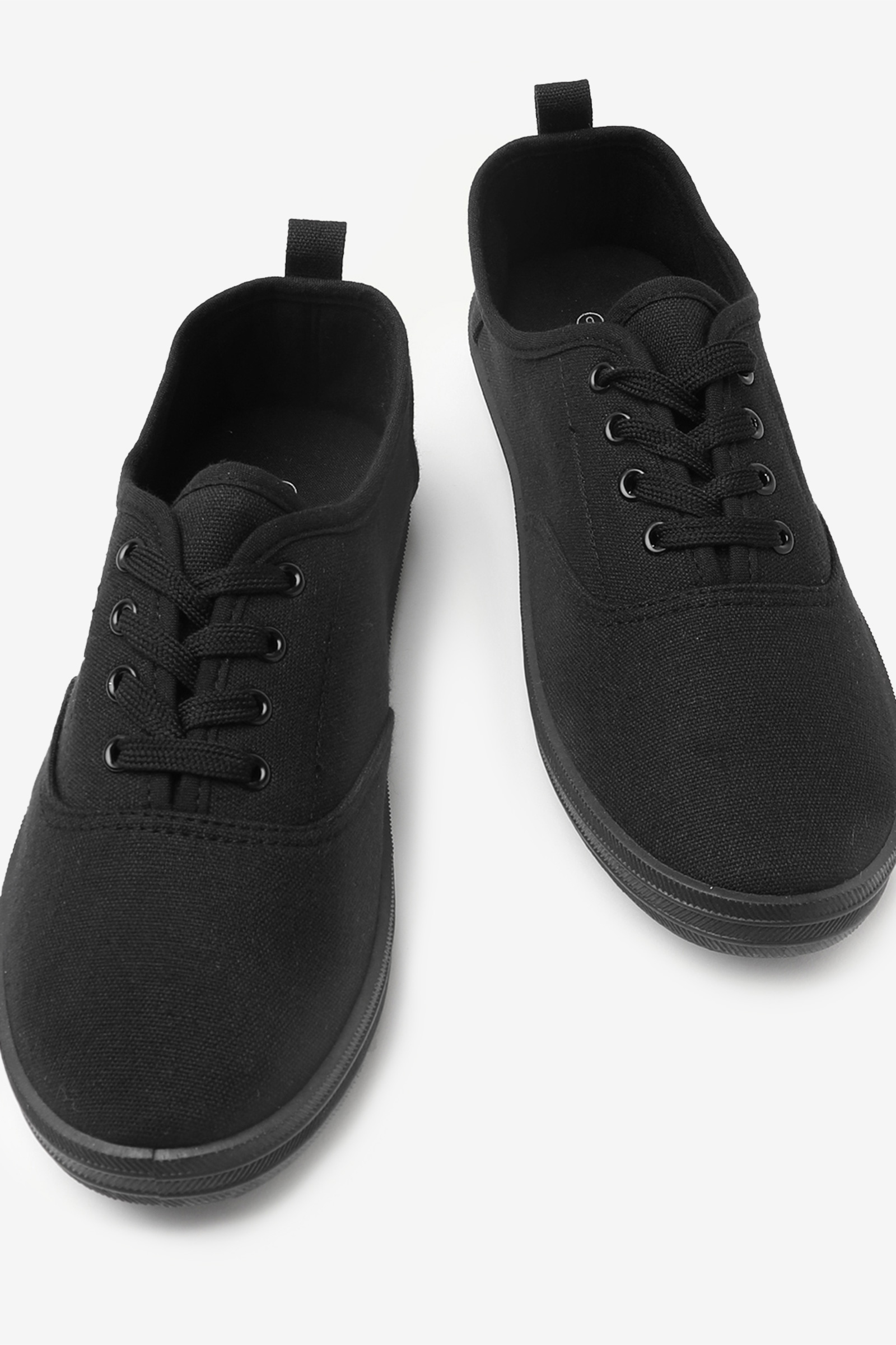 Laced Canvas Sneakers