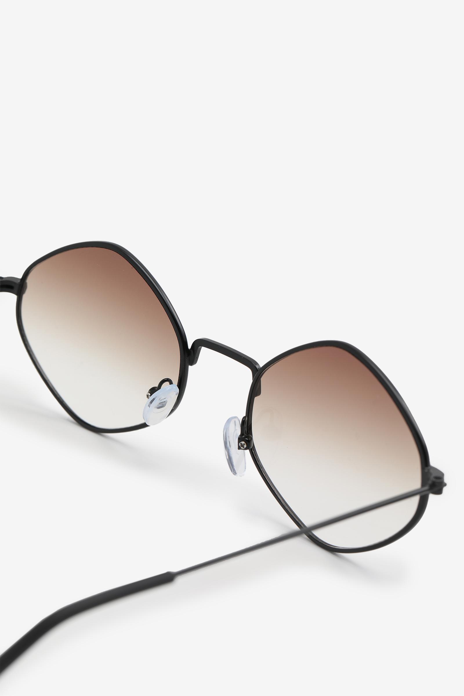 Hexagon Gradient Sunglasses
