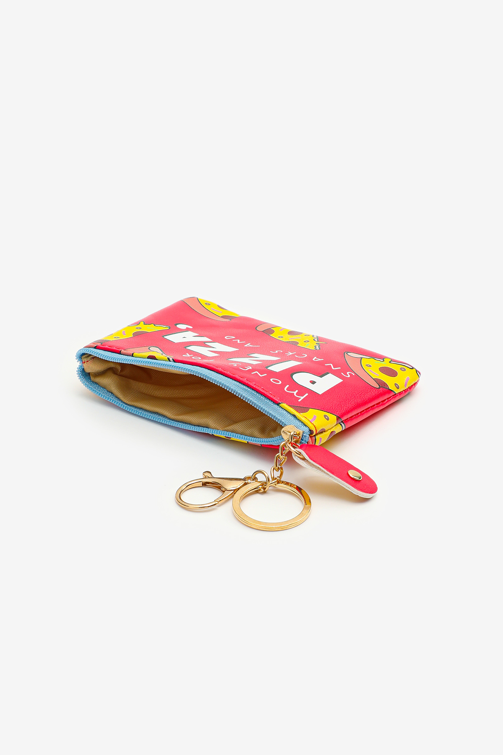 Pizza Print Coin Purse for Girls
