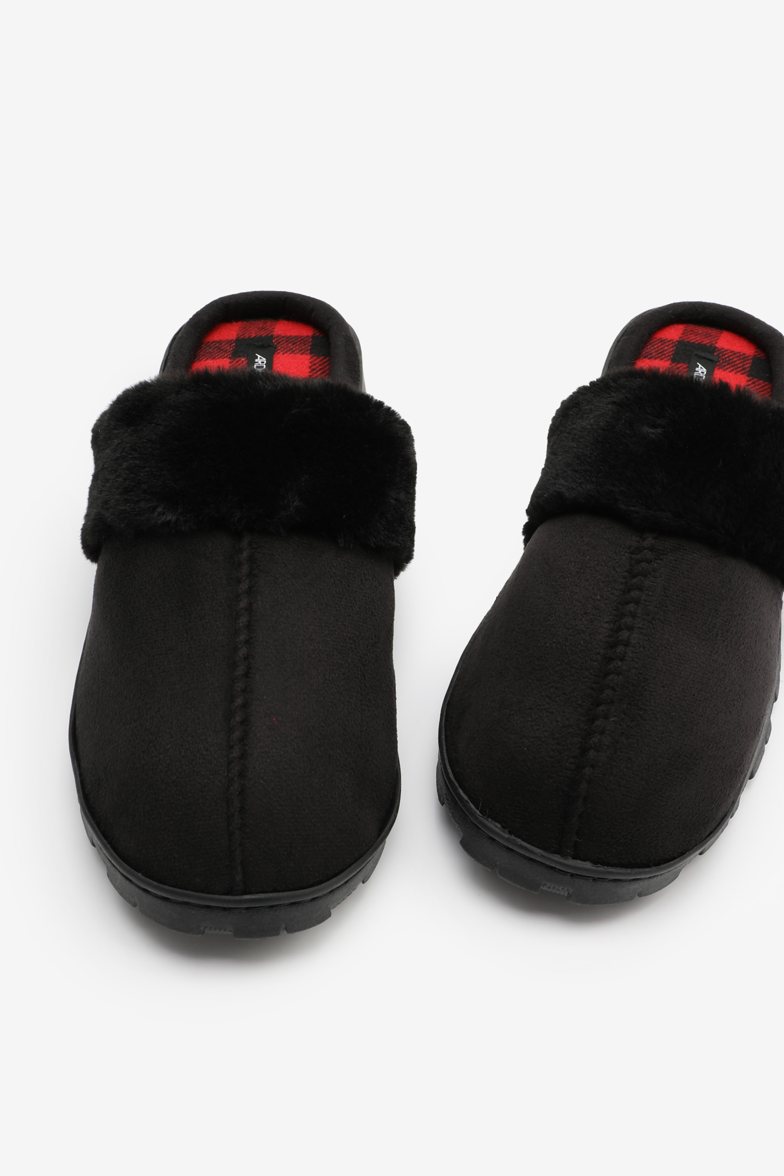 Faux Suede Slippers