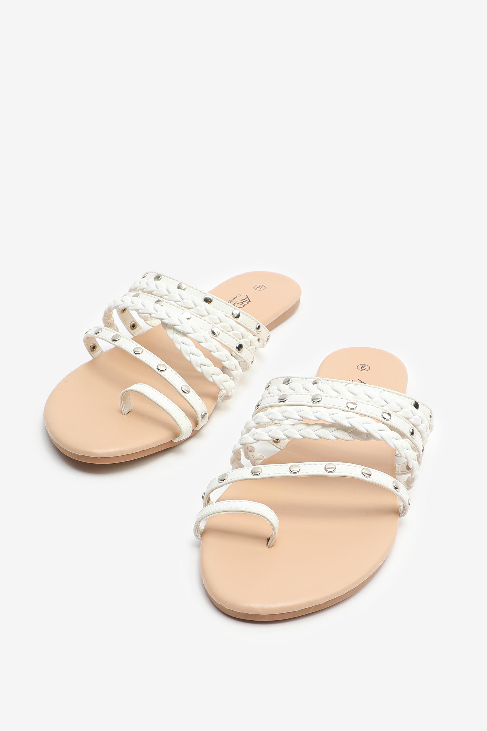 Sandales à courroies