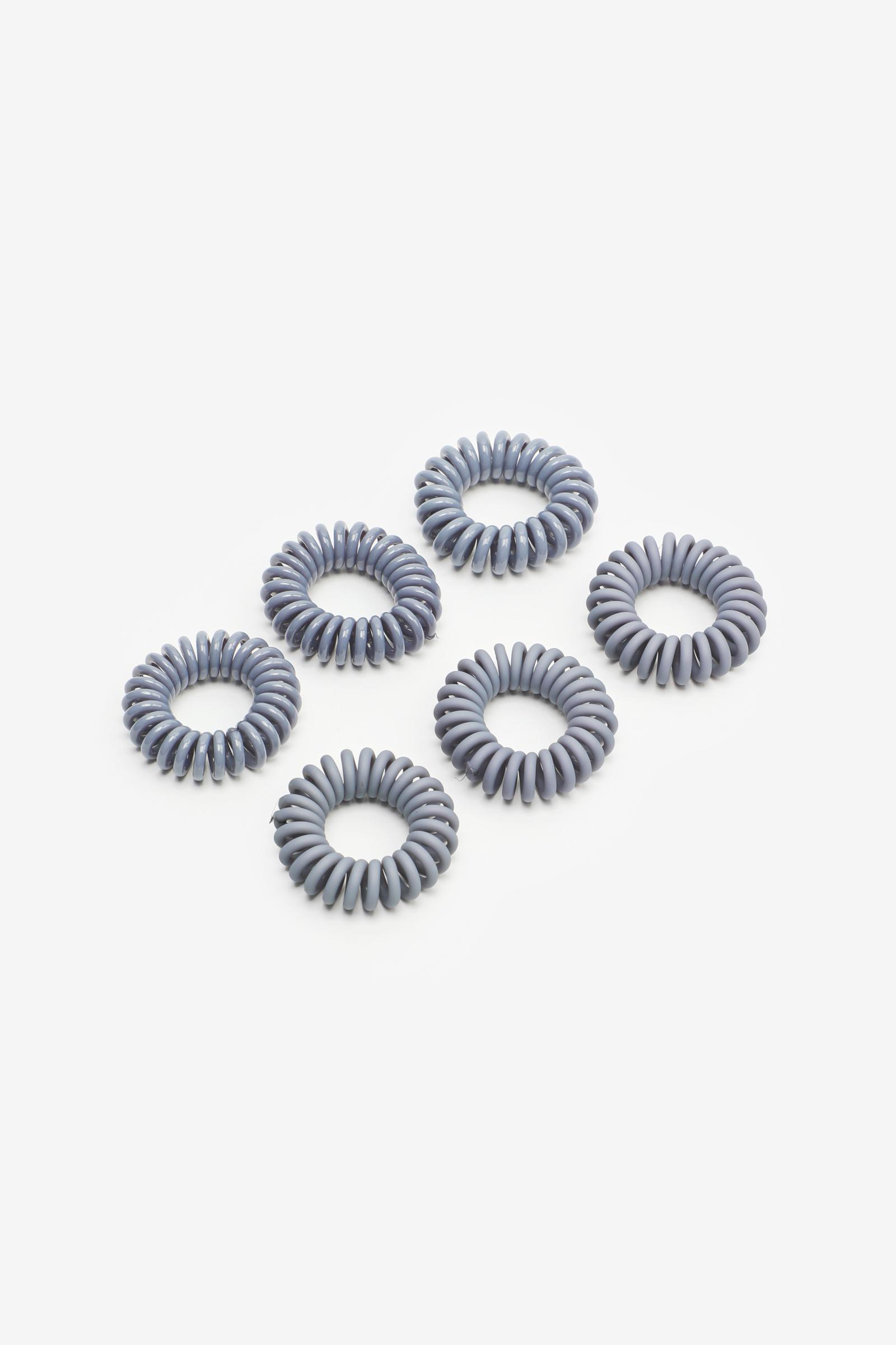 Paquet de petits élastiques spirales