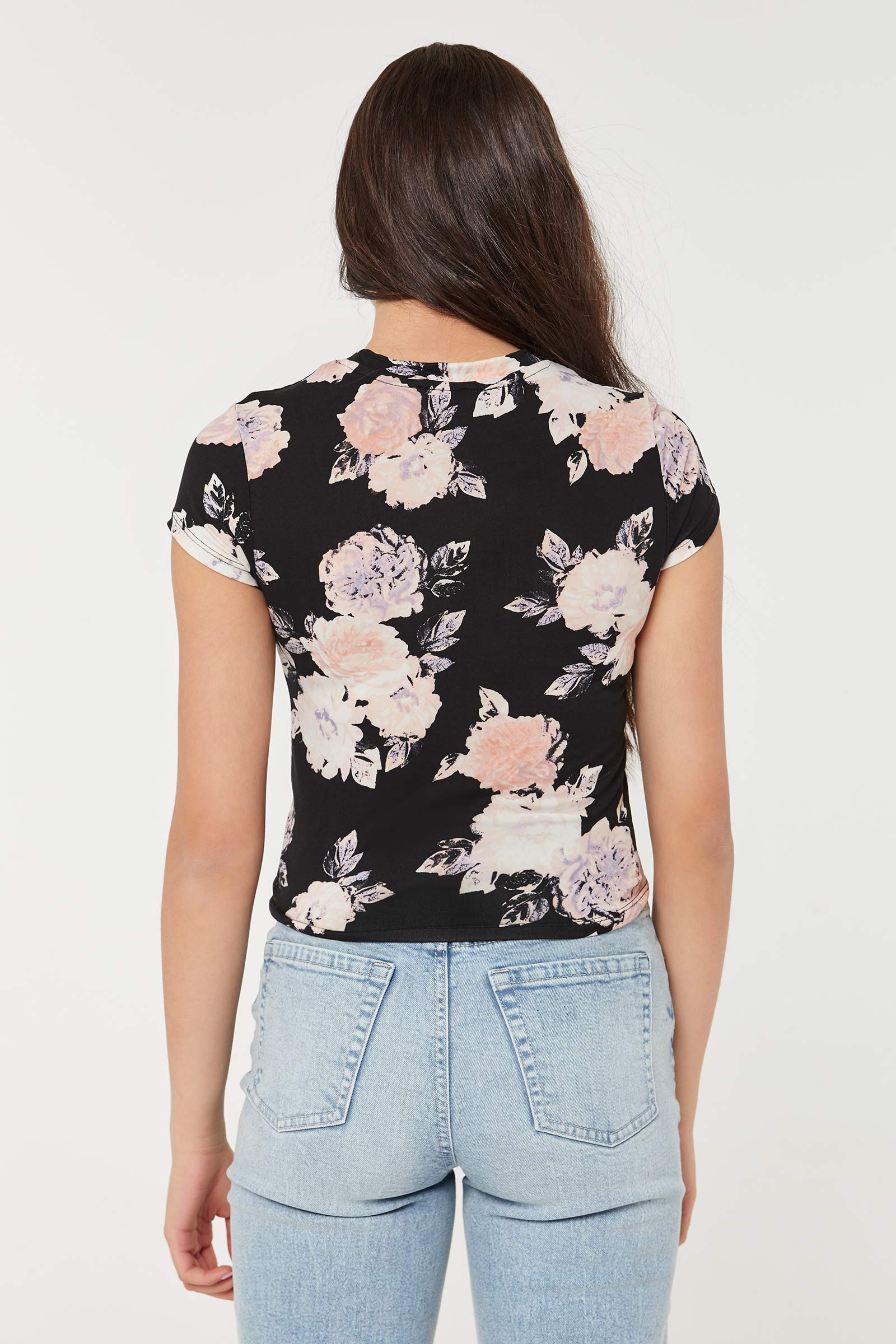 Soft Floral Tee
