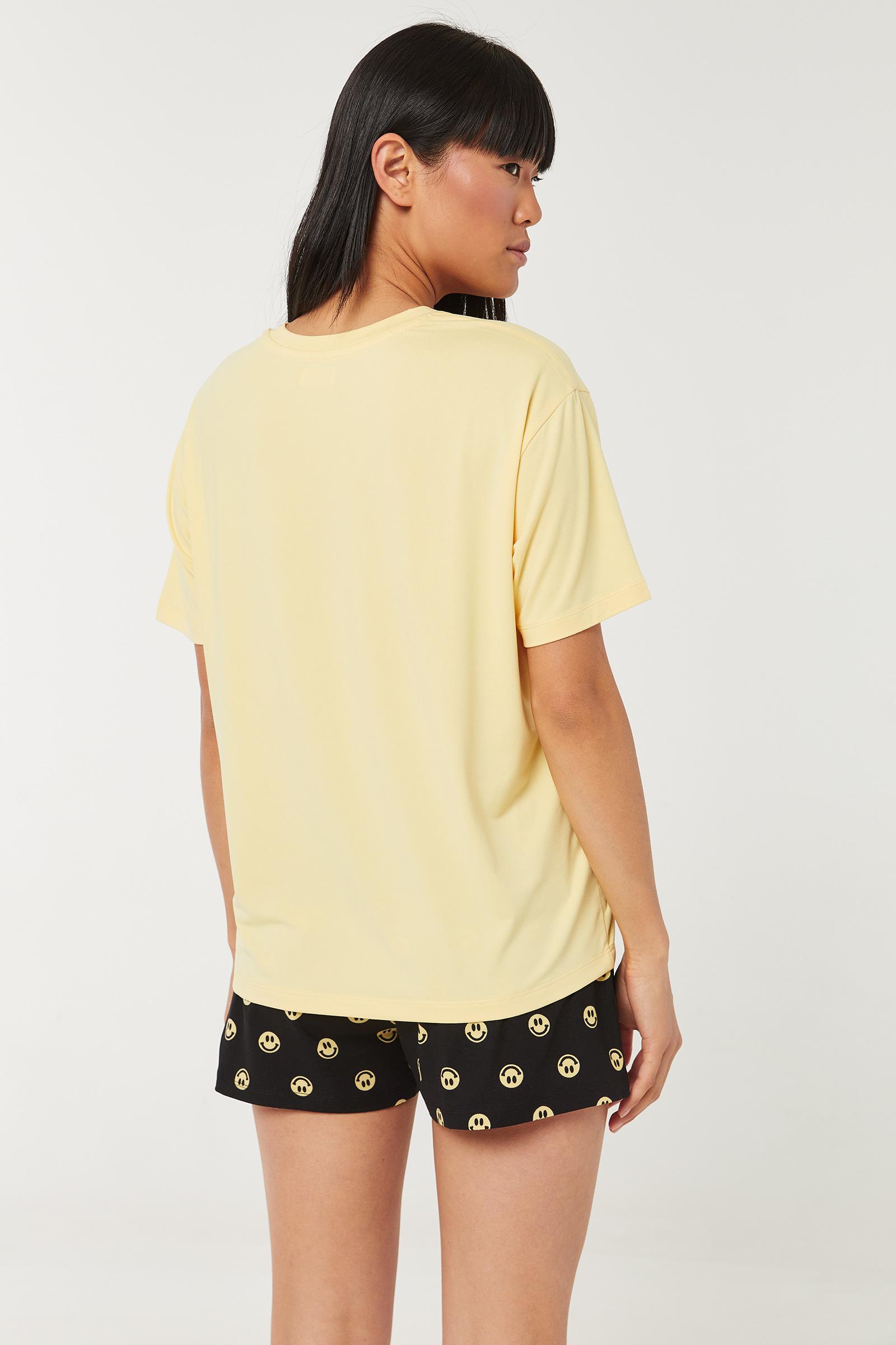 Pyjama 2 pièces bonhommes sourires