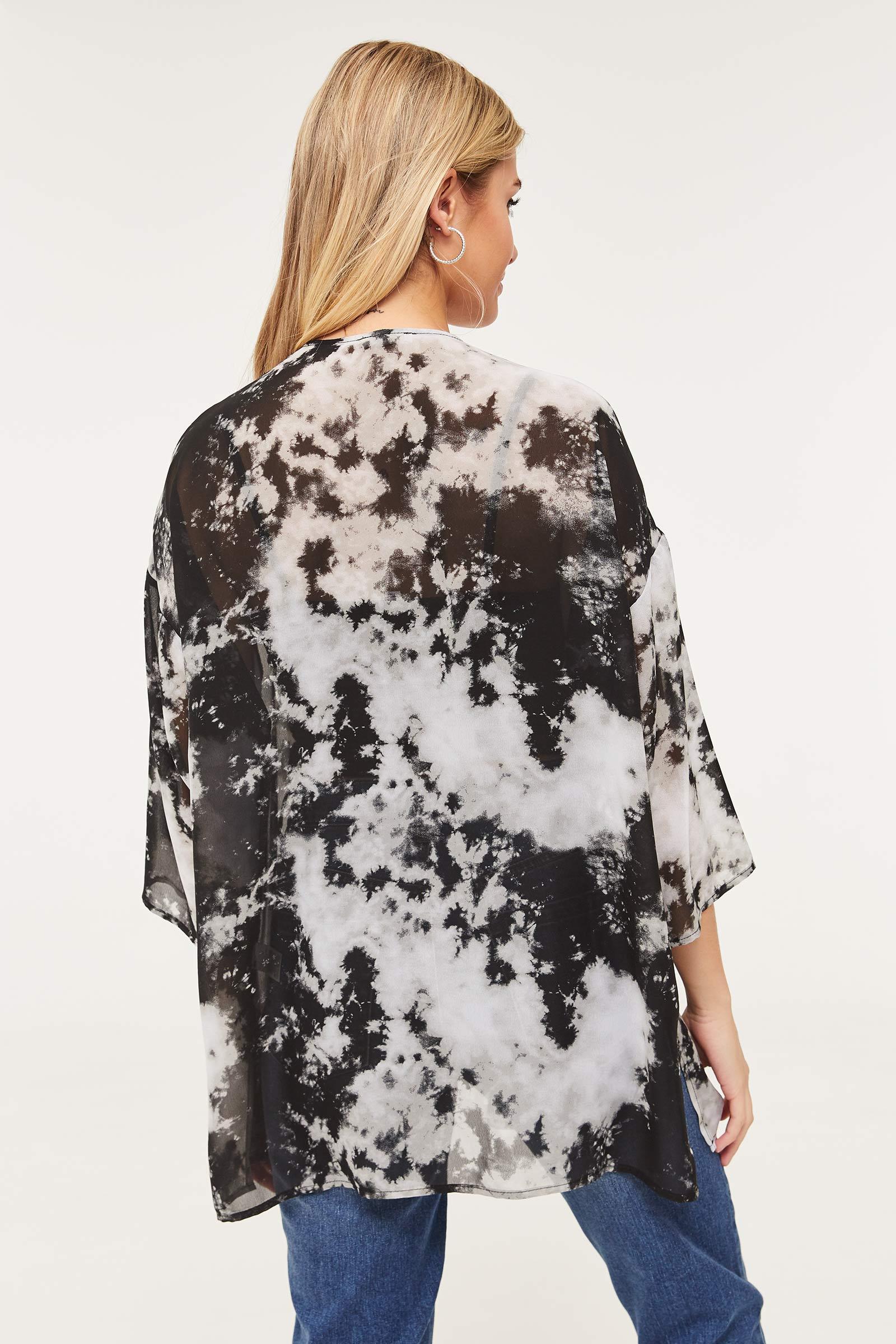 Tie-dye Kimono