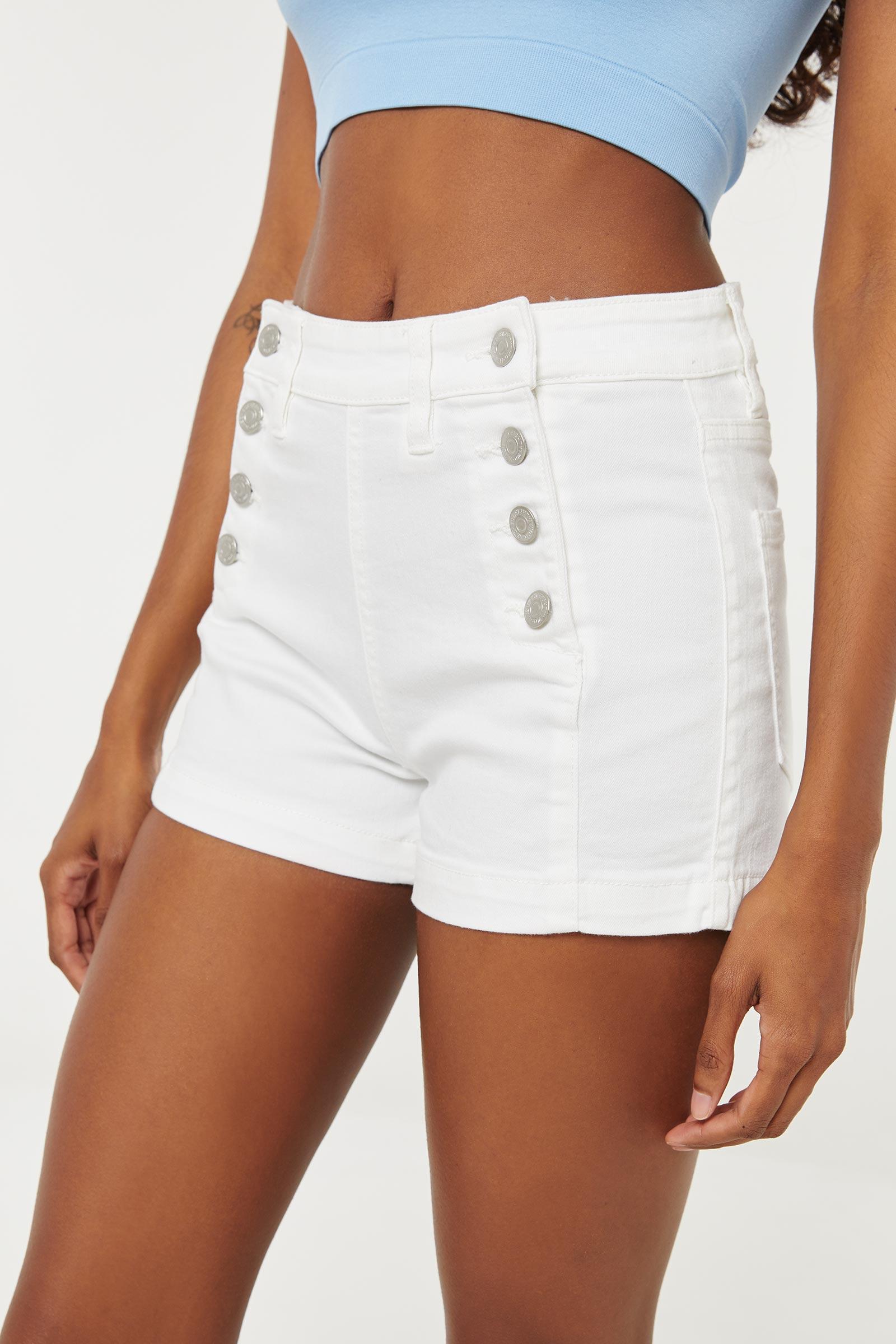 High Rise Sailor Shorts