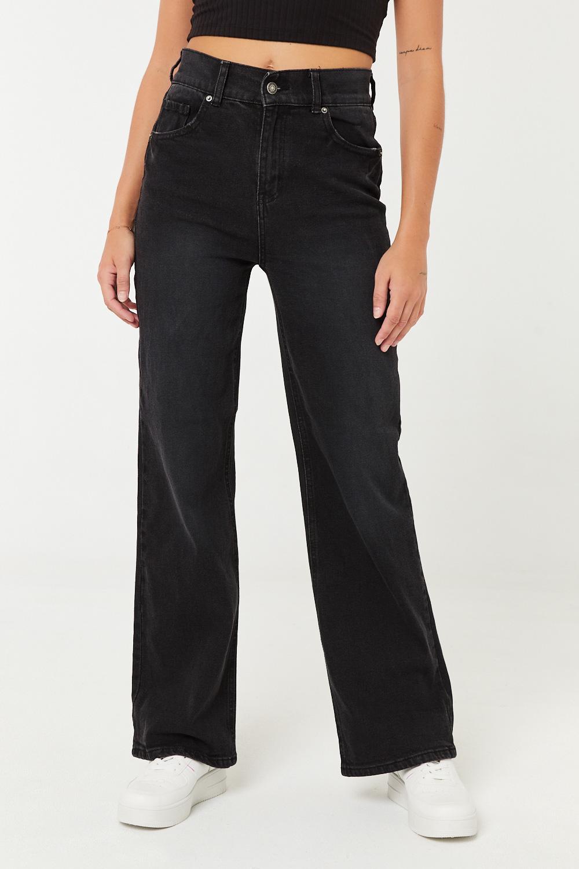 Jeans taille haute années 90
