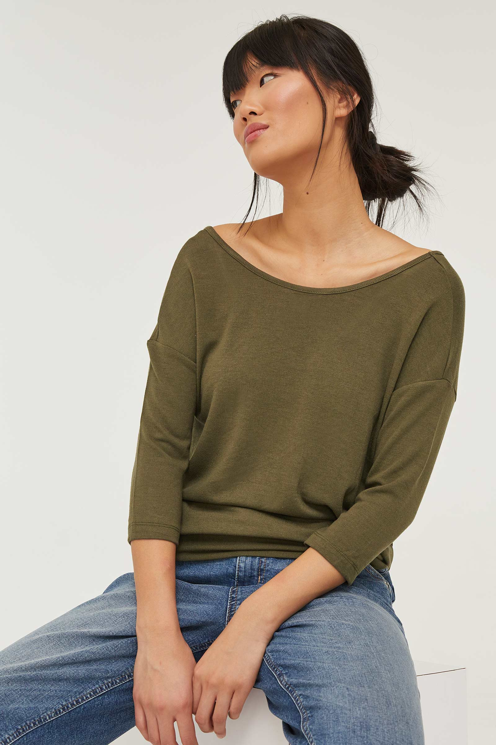 Eco-Conscious Brushed Top