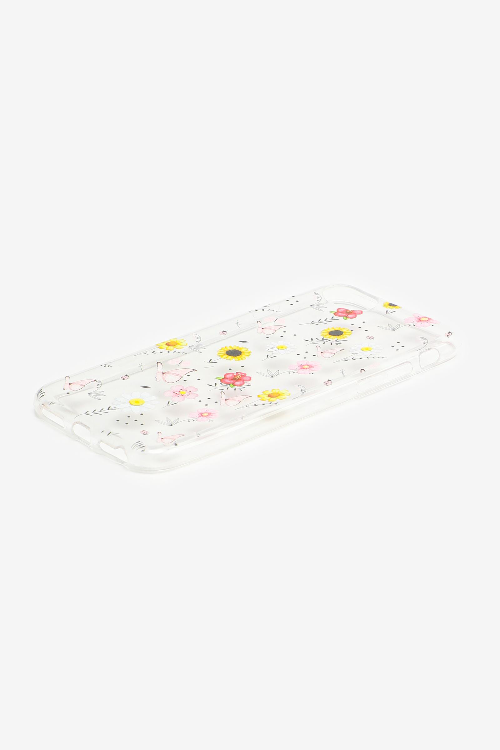Étui d'iPhone 6/7/8 papillons et fleurs