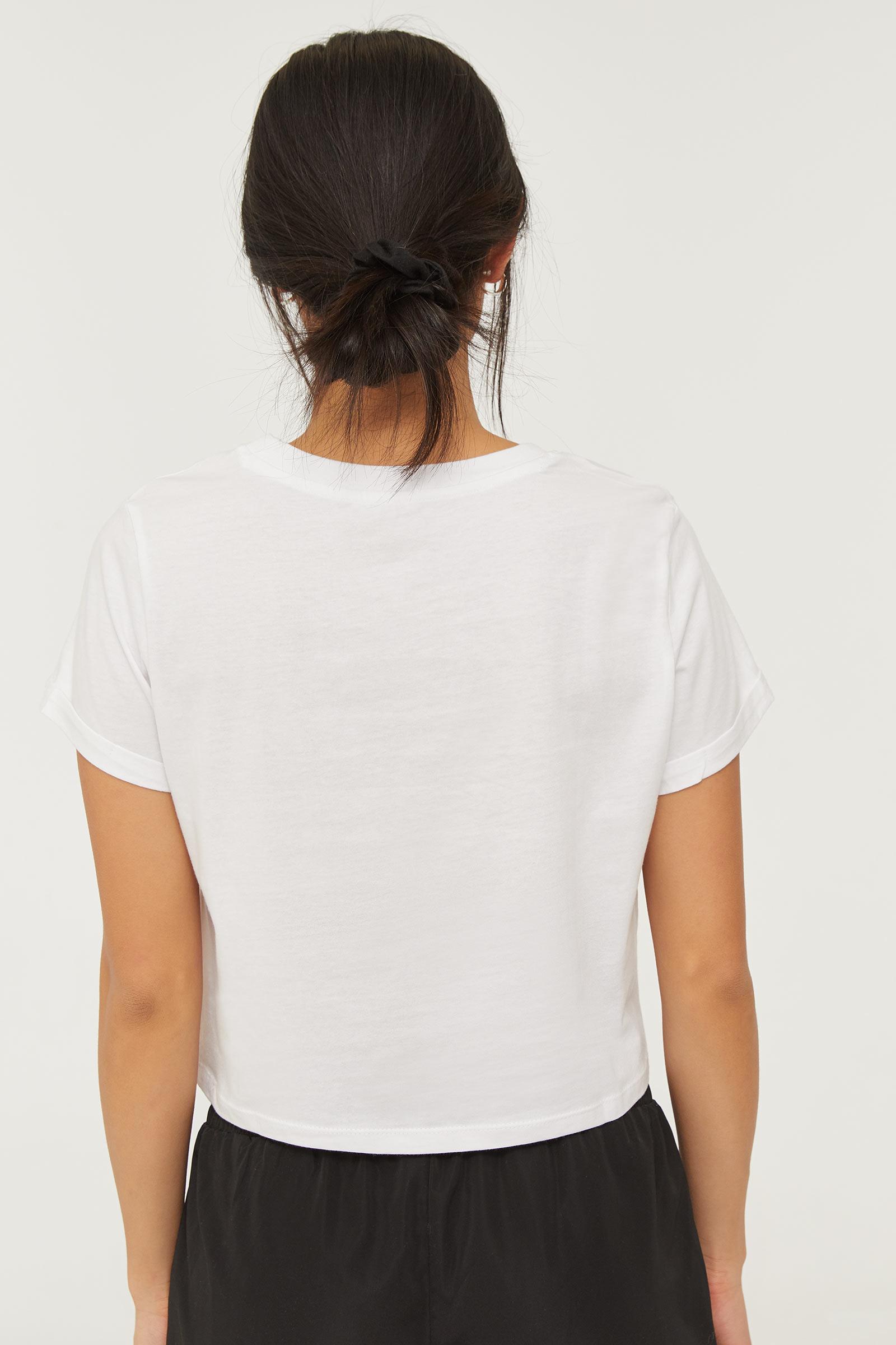T-shirt graphique en coton