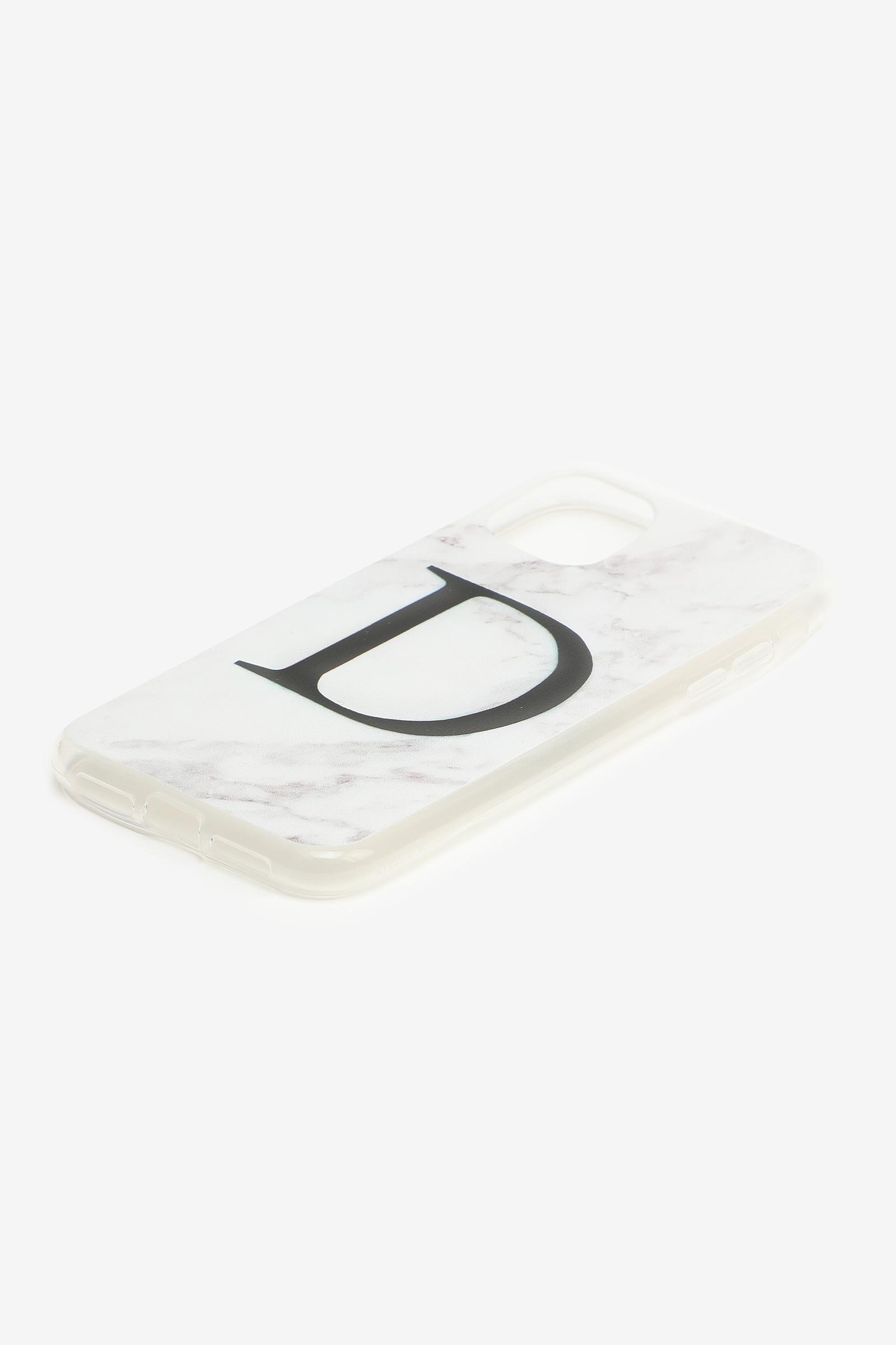 Étui d'iPhone 11 lettre D