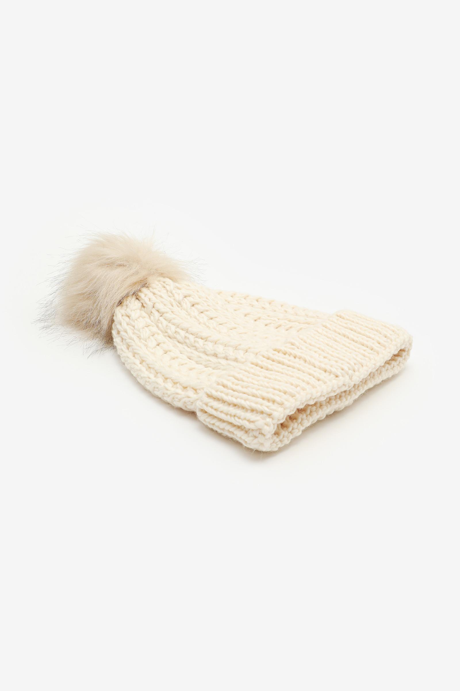 Tuque en tricot côtelé